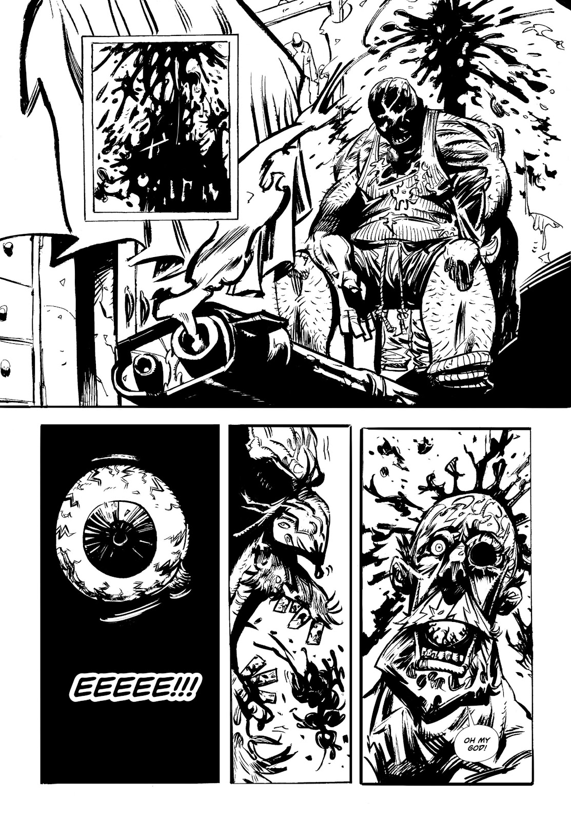 Read online Wrath of God comic -  Issue # _TPB - 9