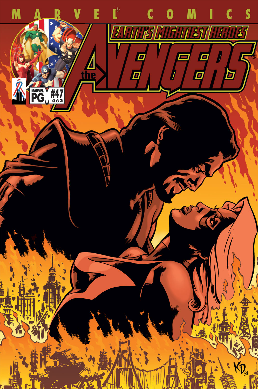 Read online Avengers (1998) comic -  Issue #47 - 1