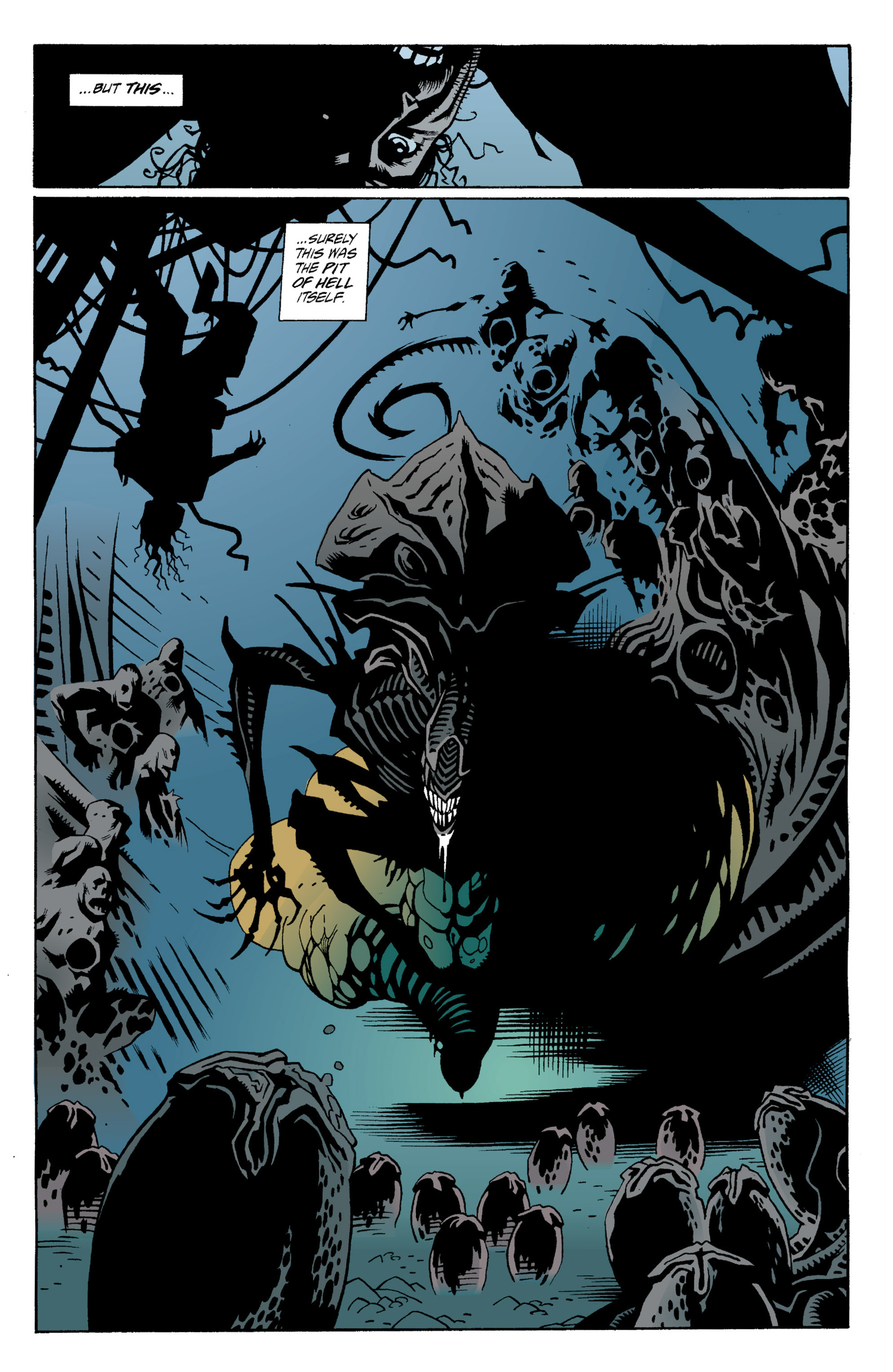 Read online Aliens: Salvation comic -  Issue # TPB - 40