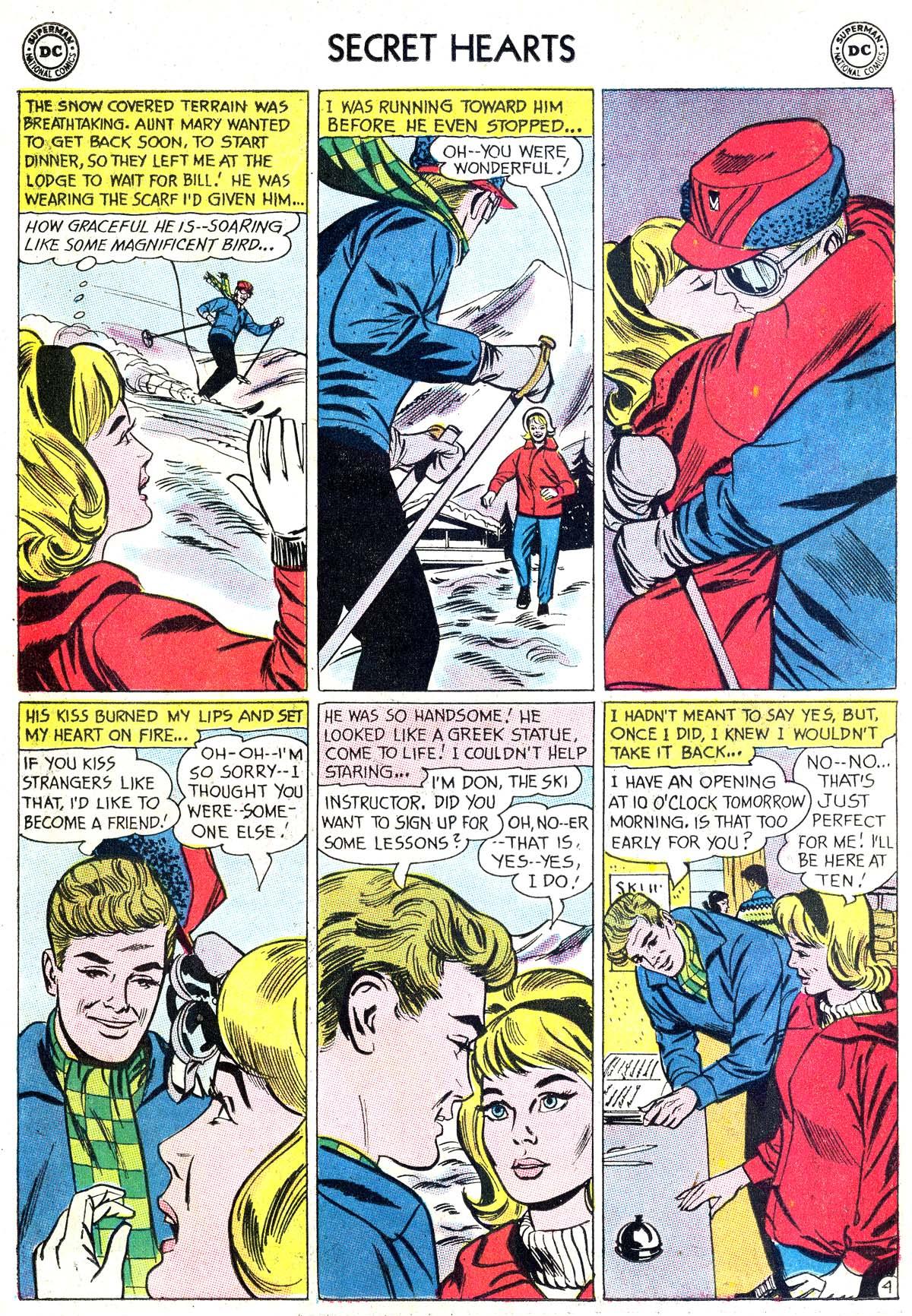 Read online Secret Hearts comic -  Issue #87 - 6