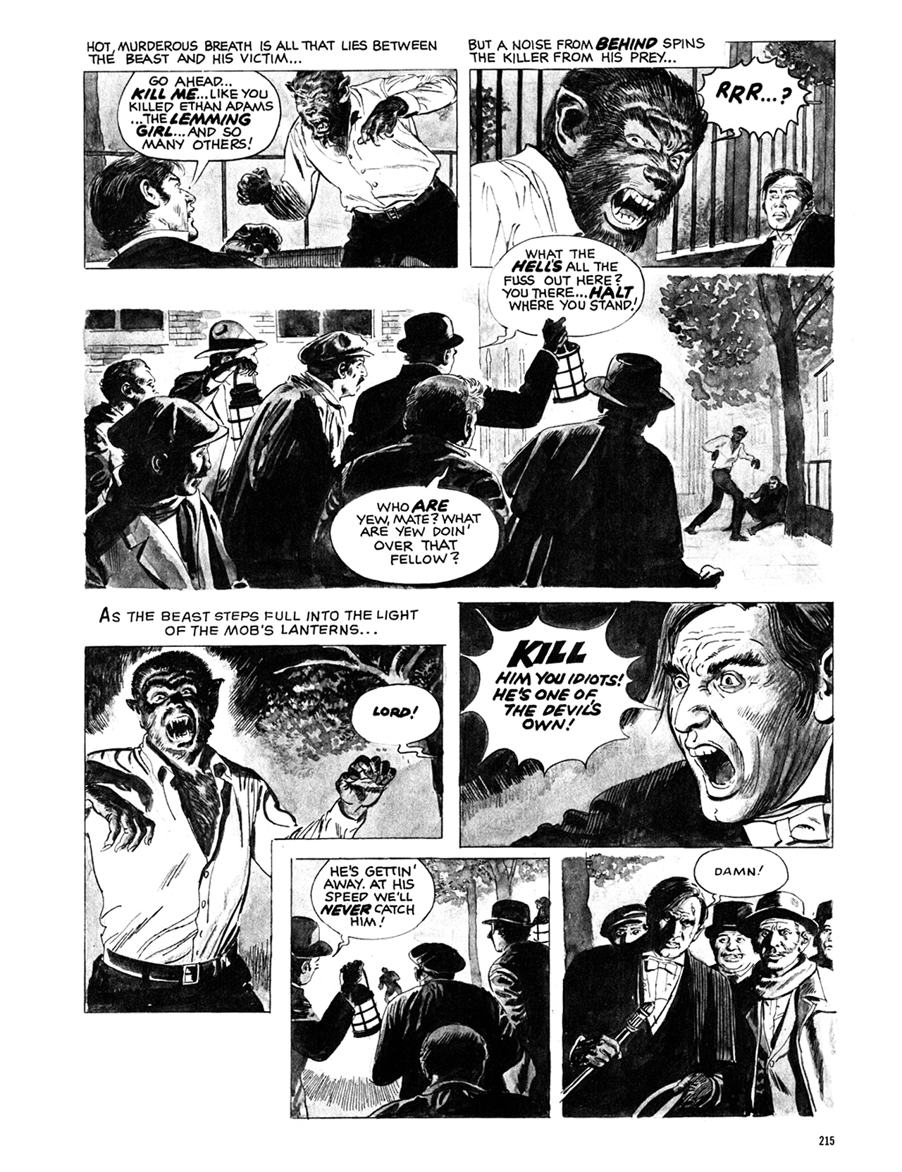 Read online Eerie Archives comic -  Issue # TPB 10 - 216