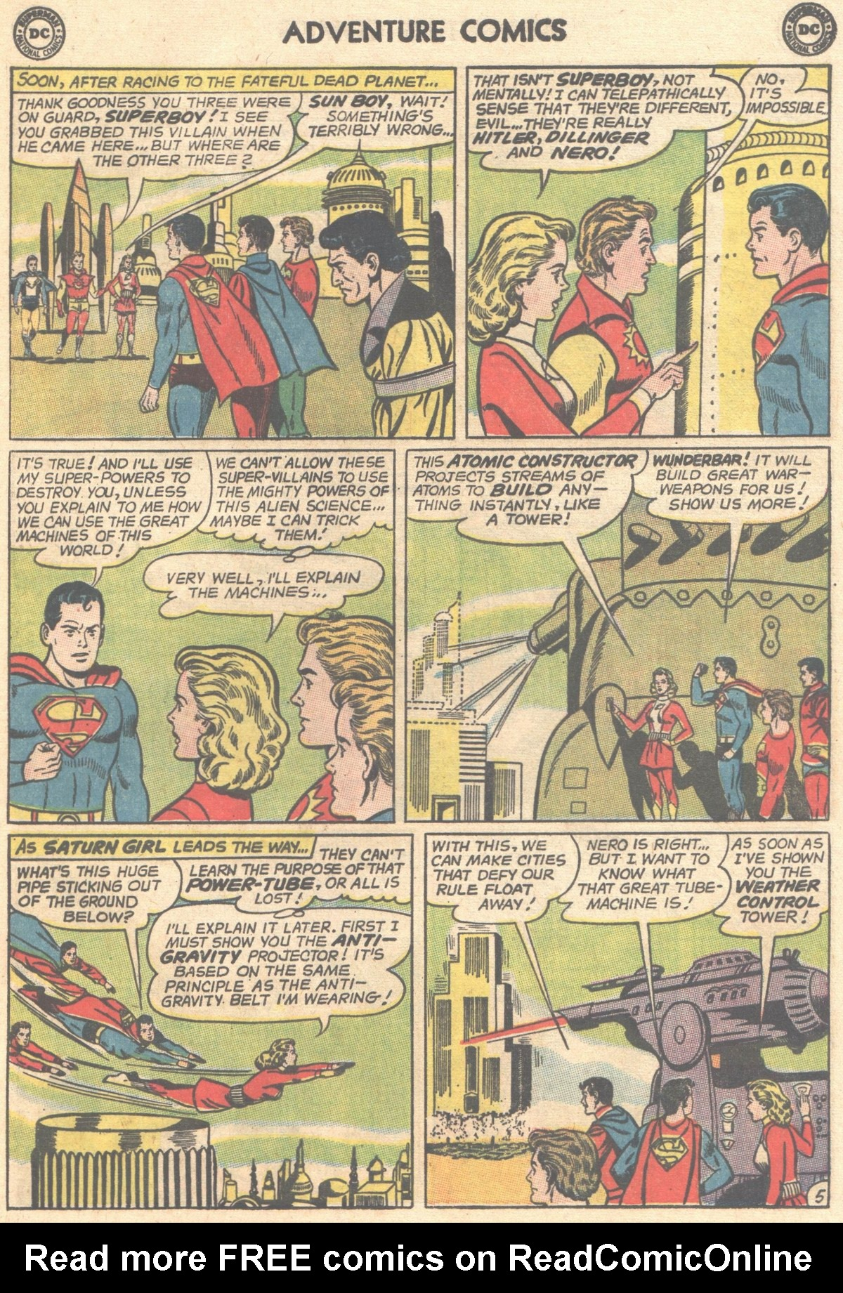Read online Adventure Comics (1938) comic -  Issue #501 - 23