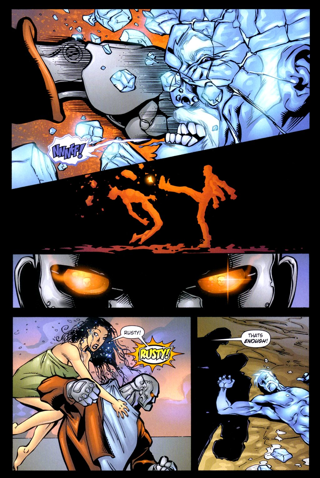 Read online Noble Causes (2002) comic -  Issue #3 - 9