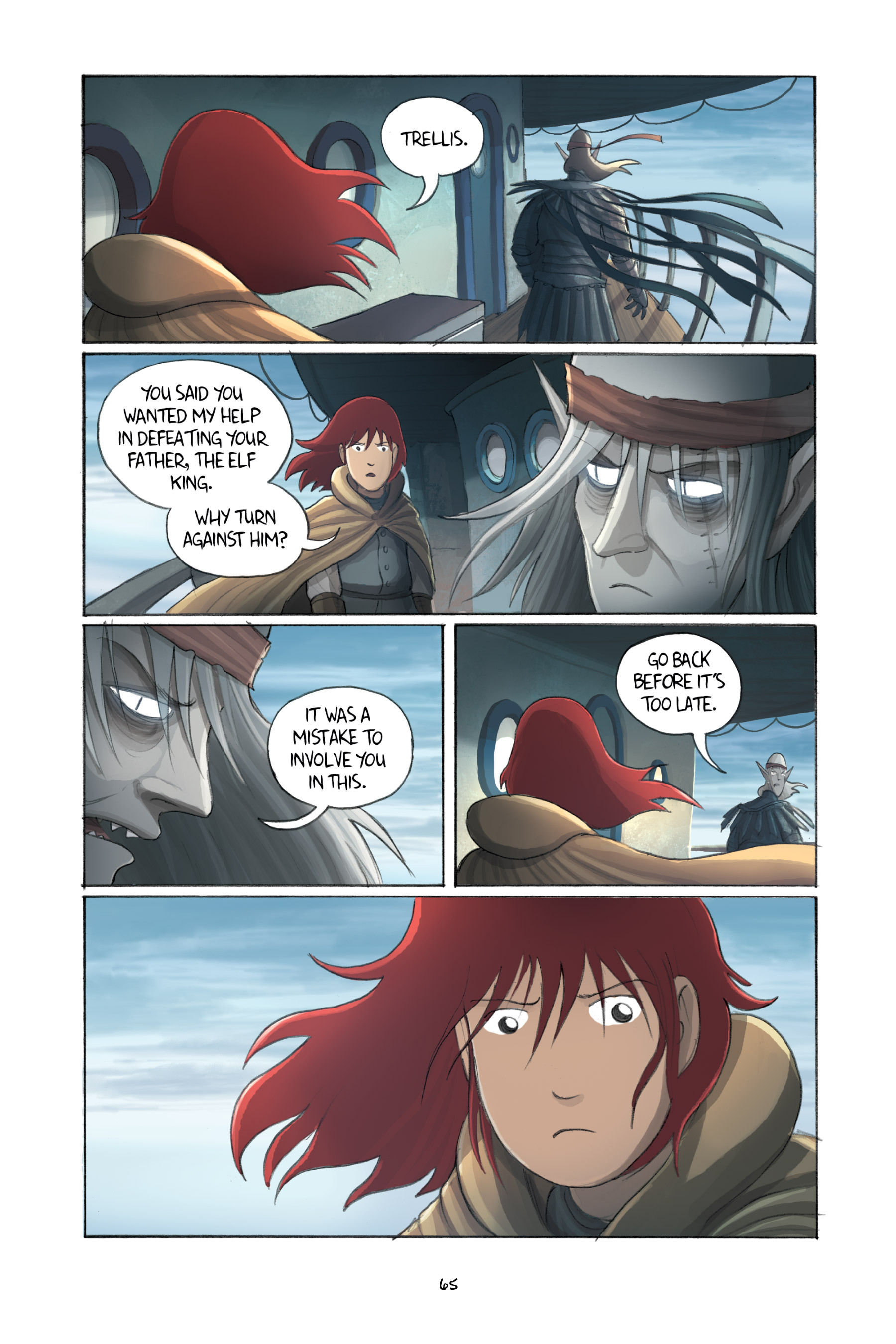 Read online Amulet comic -  Issue #3 - 63
