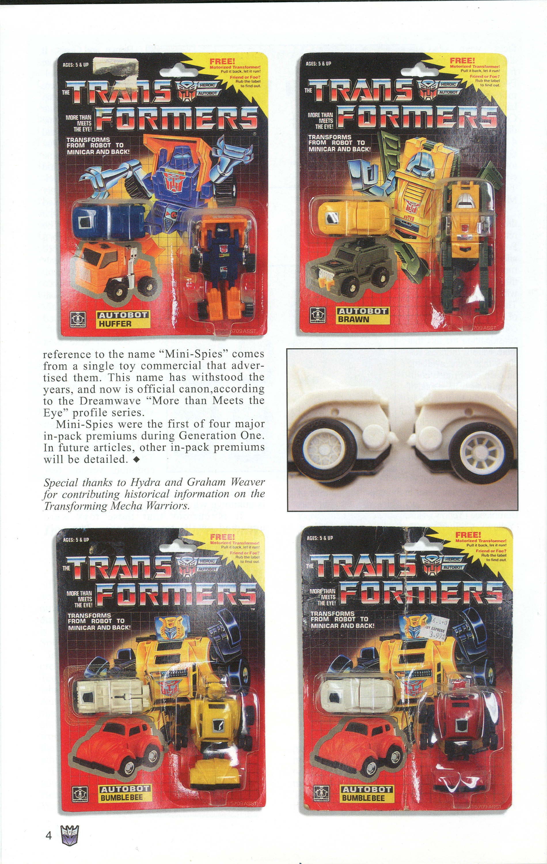 Read online Transformers: Collectors' Club comic -  Issue #1 - 4
