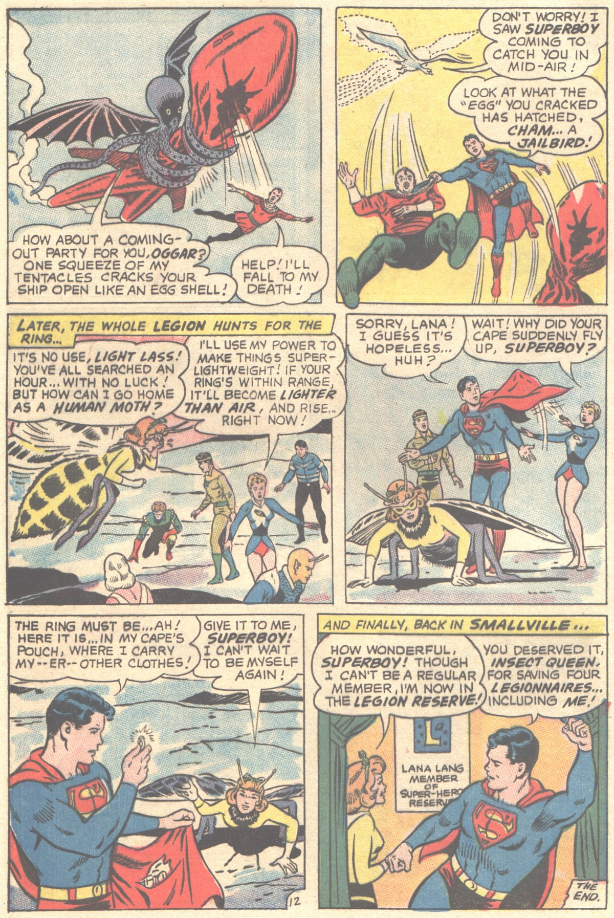 Read online Adventure Comics (1938) comic -  Issue #355 - 32