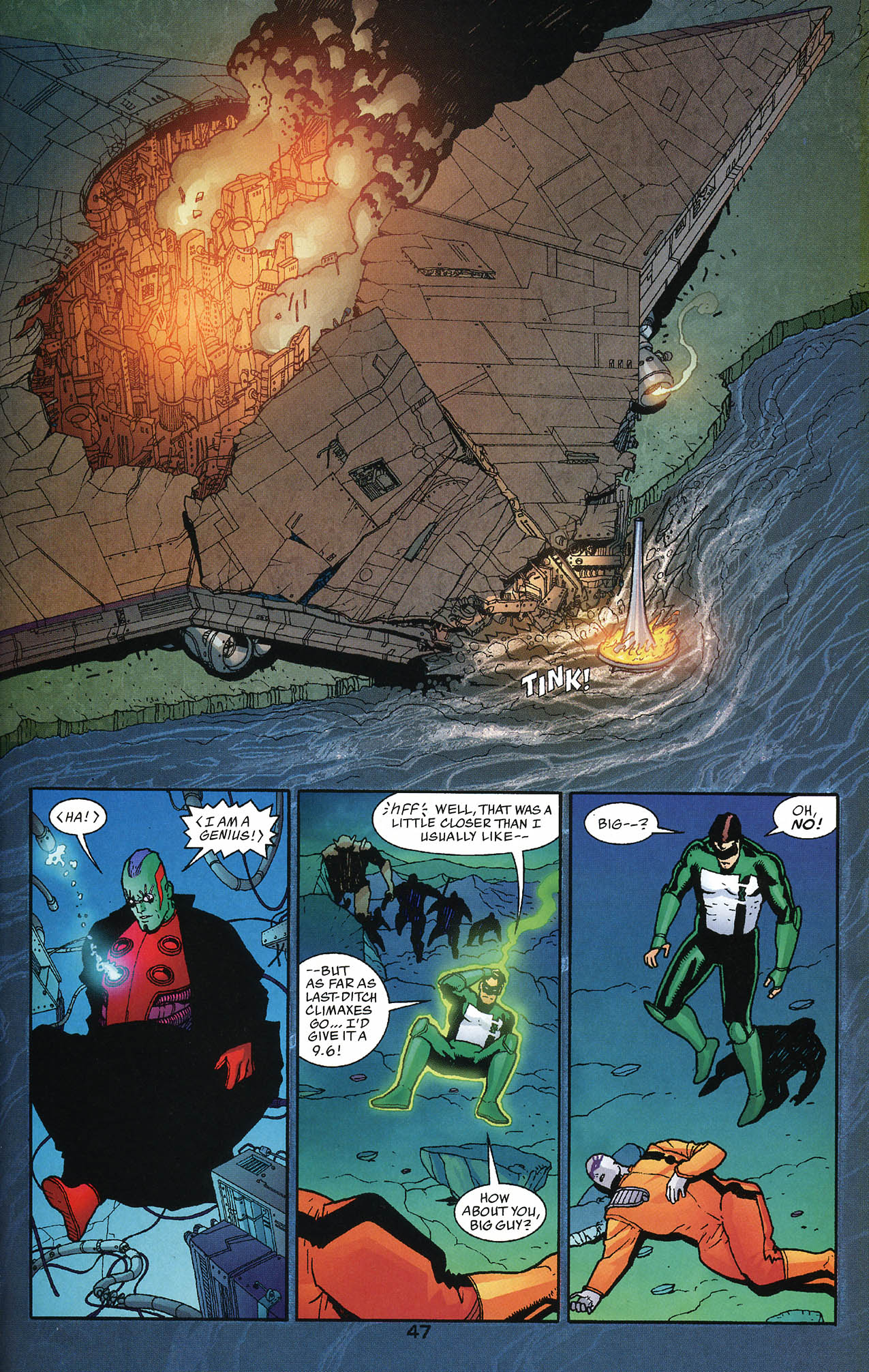 Read online JLA/Haven: Arrival comic -  Issue # Full - 46