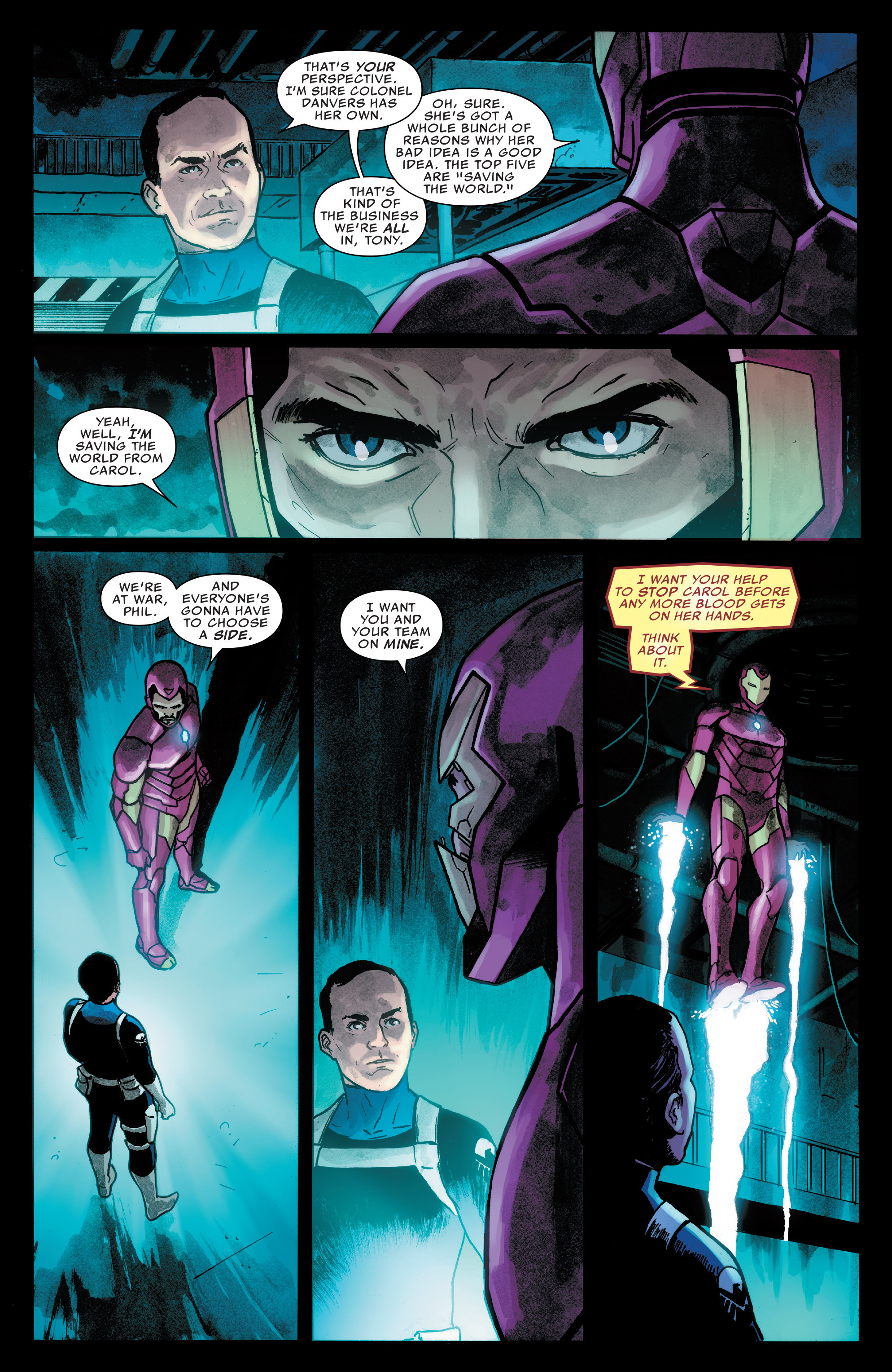 Read online Agents of S.H.I.E.L.D. comic -  Issue #7 - 16