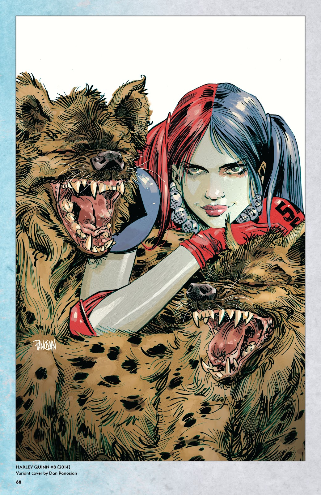 Read online Harley Quinn: A Rogue's Gallery―The Deluxe Cover Art Collection comic -  Issue # TPB (Part 1) - 65