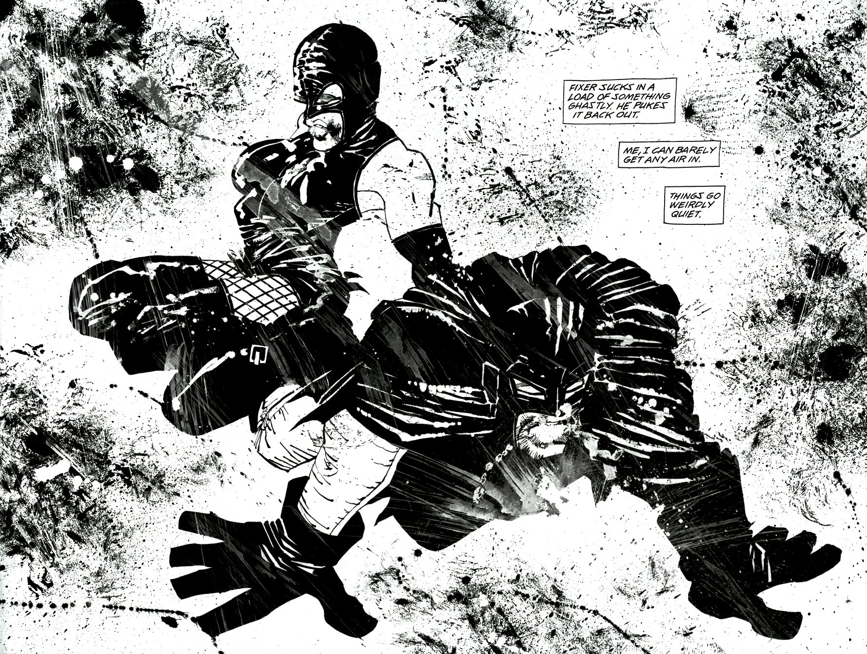Read online Frank Miller's Holy Terror comic -  Issue # TPB - 48