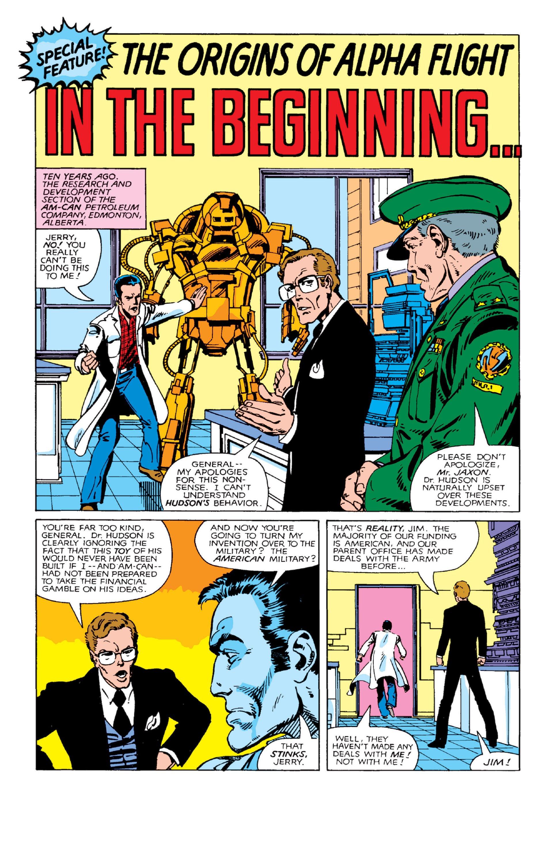 Read online Alpha Flight (1983) comic -  Issue #2 - 19