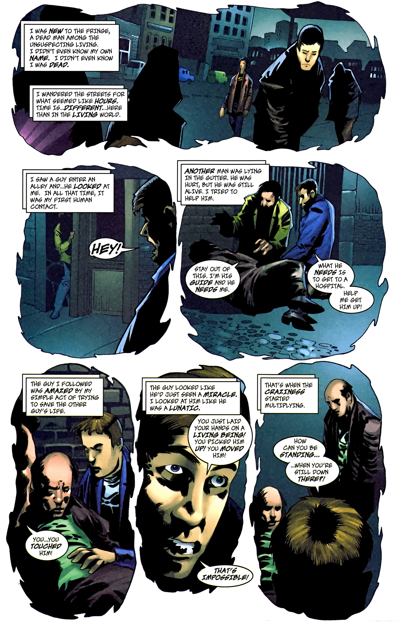 Read online The Grim Ghost comic -  Issue #1 - 10