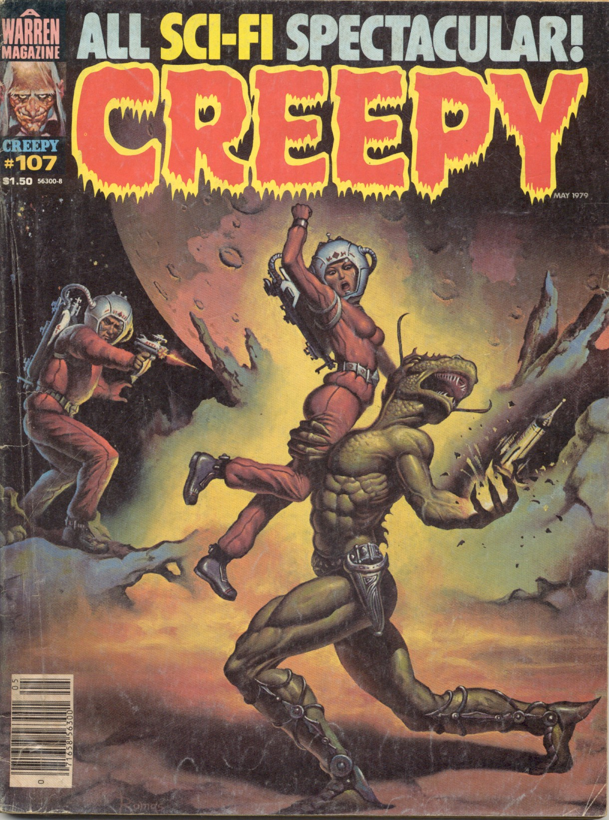 Creepy (1964) 107 Page 1