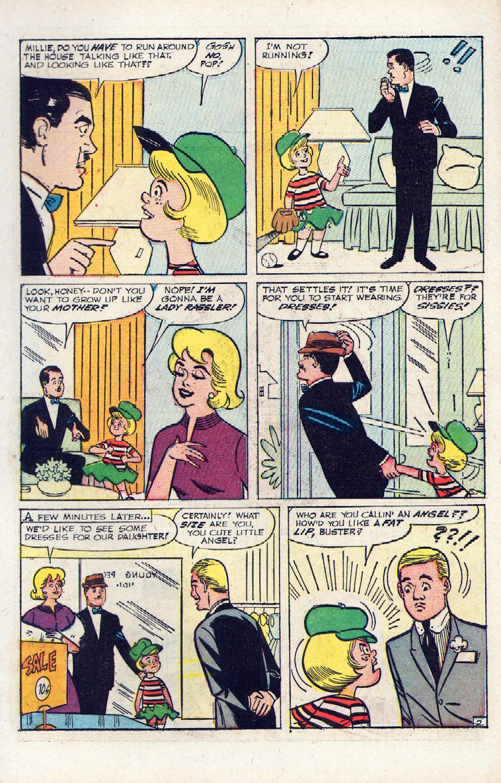 Read online Millie the Model comic -  Issue # Annual 2 - 33