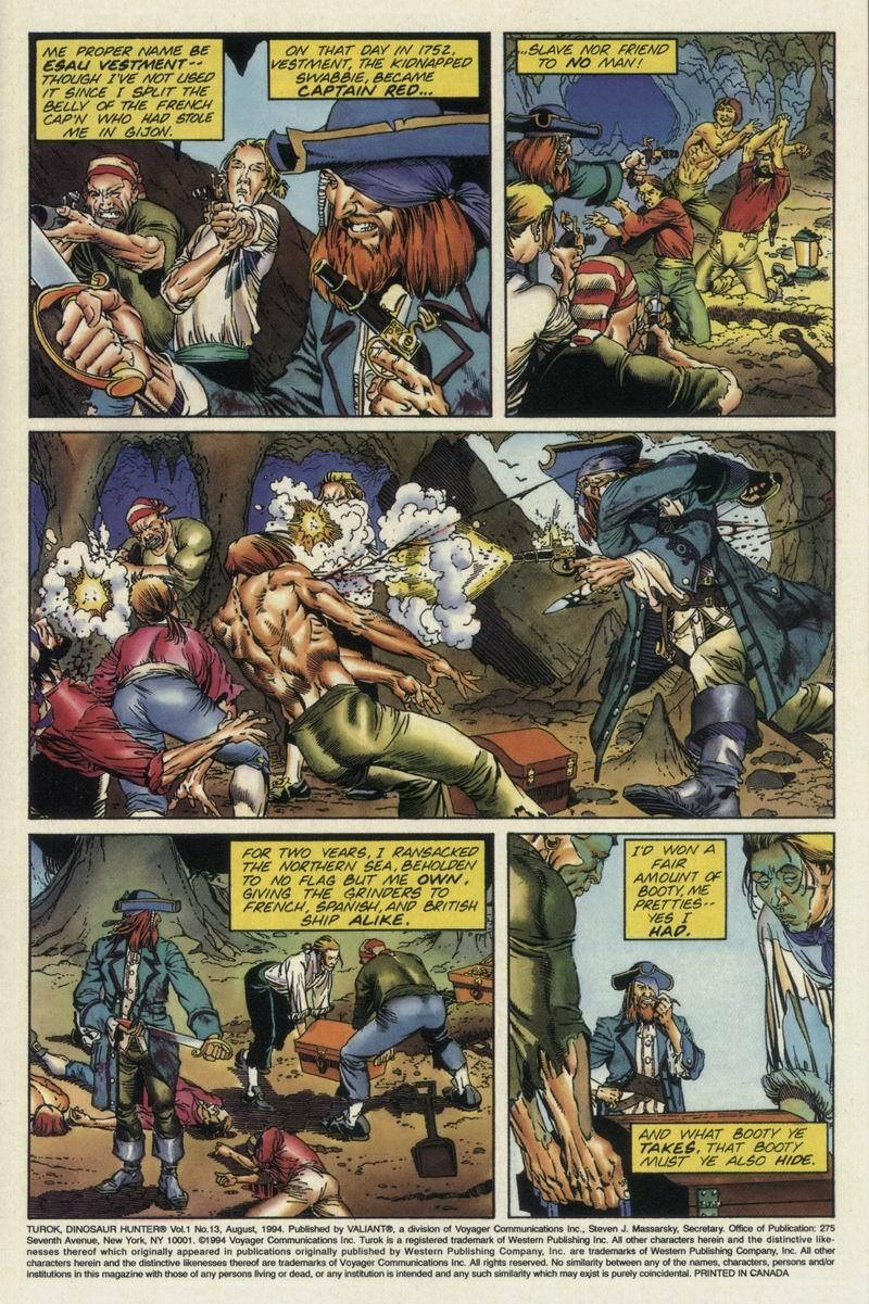 Read online Turok, Dinosaur Hunter (1993) comic -  Issue #13 - 4