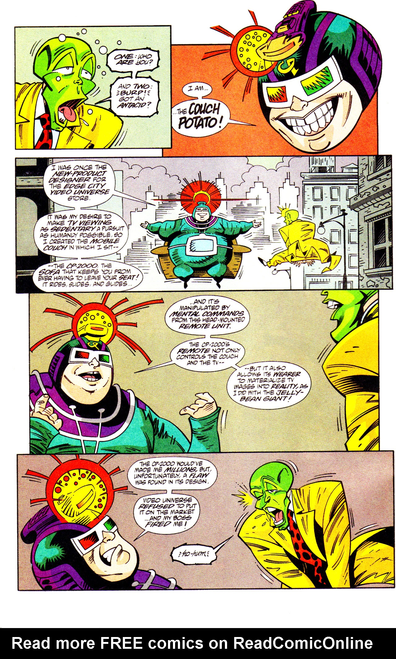 Read online Adventures Of The Mask comic -  Issue #7 - 16