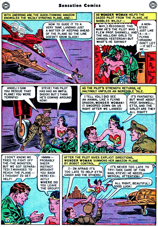 Read online Sensation (Mystery) Comics comic -  Issue #91 - 5