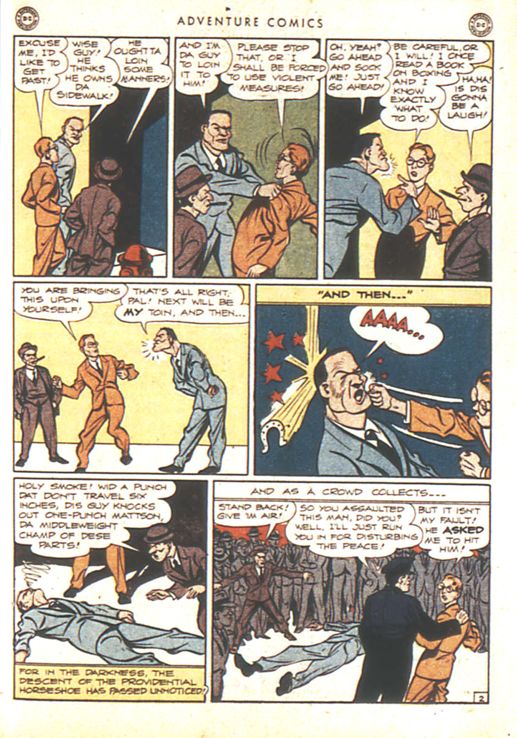 Read online Adventure Comics (1938) comic -  Issue #92 - 19