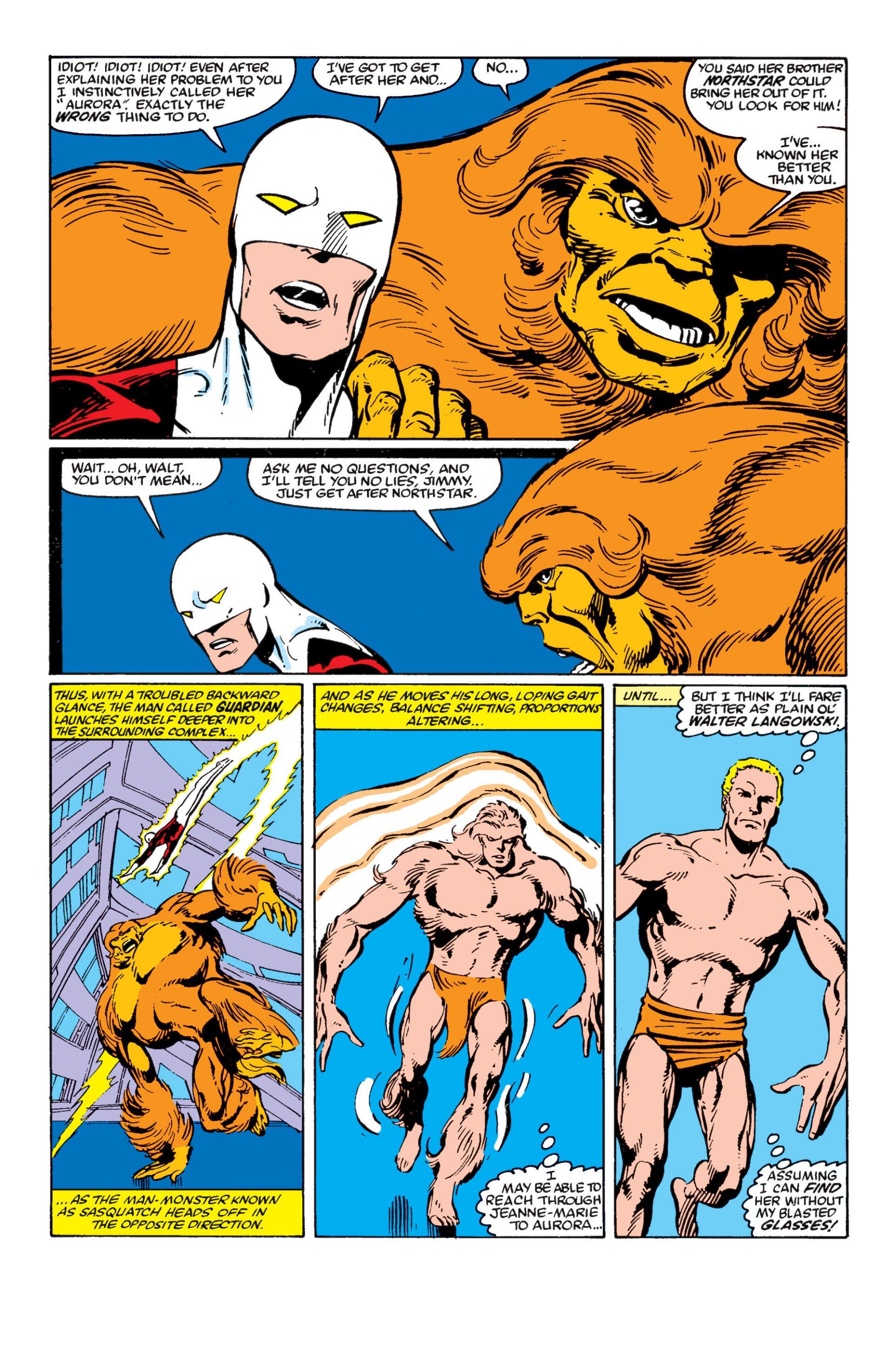 Read online Alpha Flight (1983) comic -  Issue #4 - 7