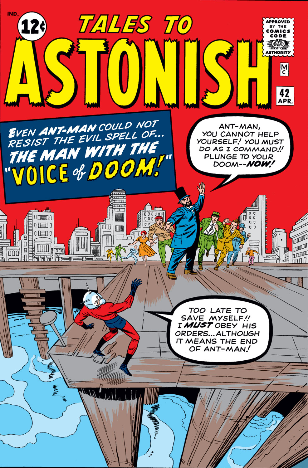 Tales to Astonish (1959) issue 42 - Page 1
