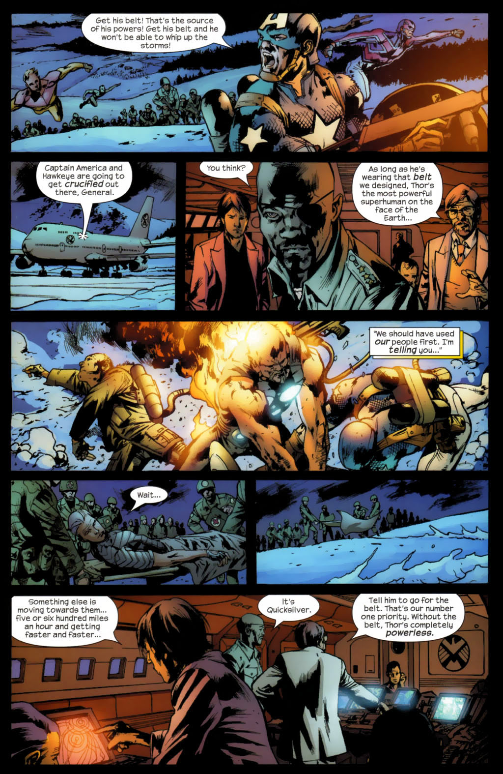 Read online Ultimates 2 comic -  Issue #5 - 5