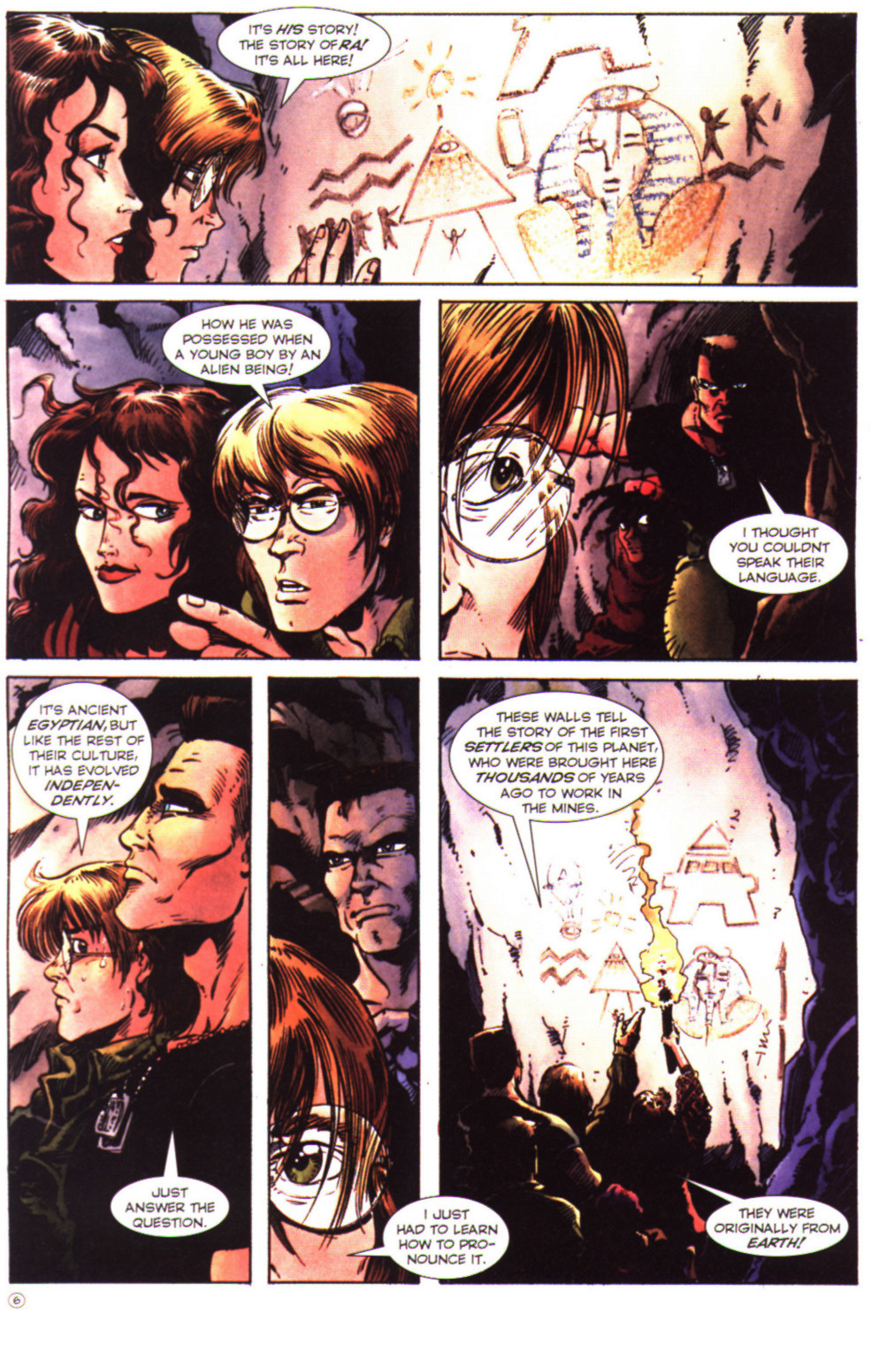 Read online Stargate comic -  Issue #2 - 8