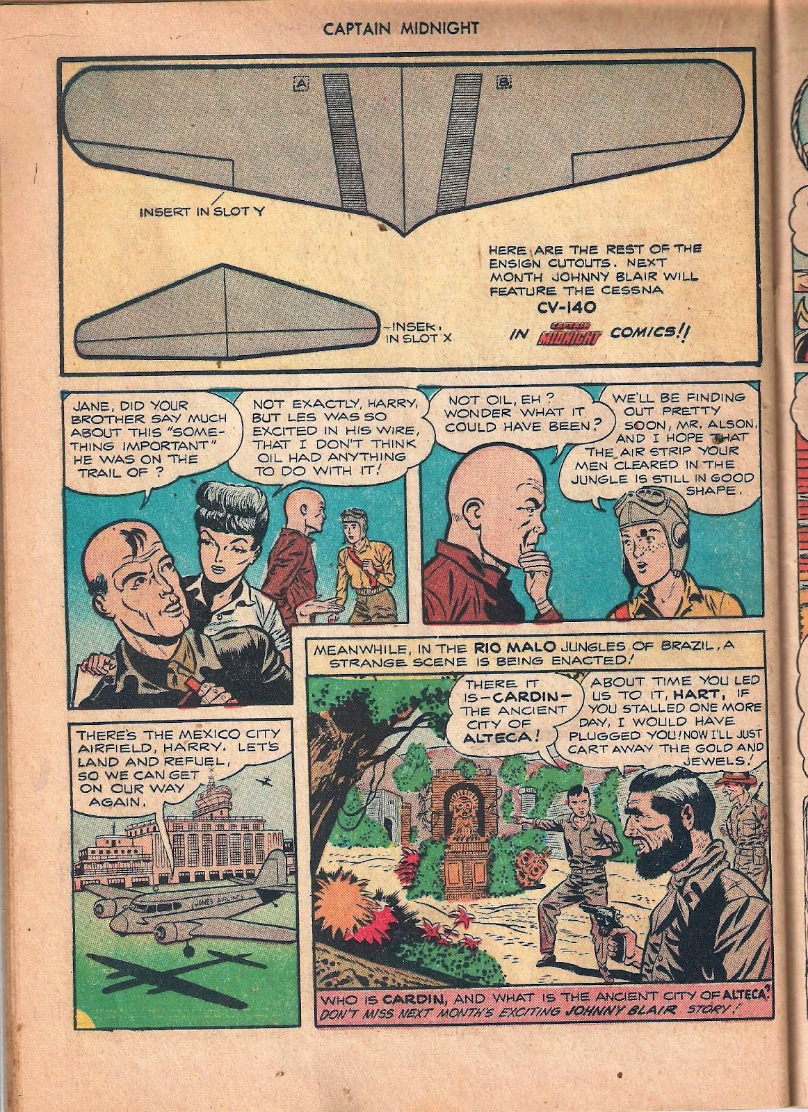 Captain Midnight (1942) issue 53 - Page 36