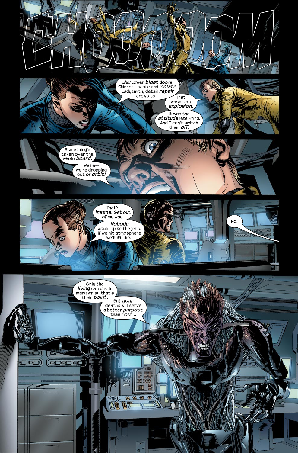 Read online Ultimate Vision comic -  Issue #2 - 24