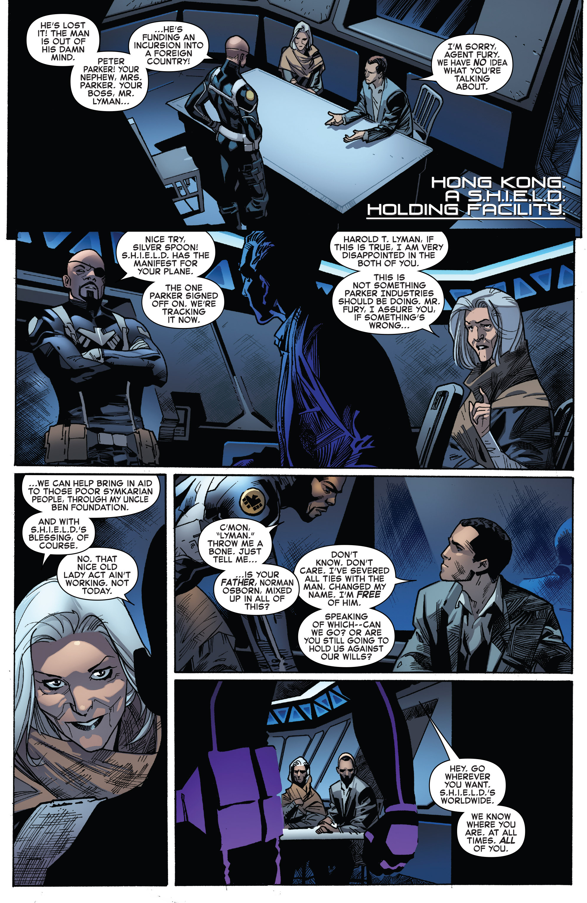 Read online The Amazing Spider-Man (2015) comic -  Issue #27 - 7