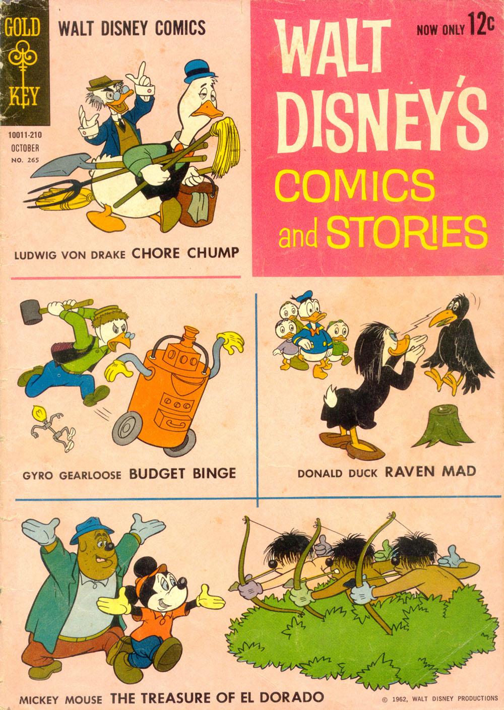 Walt Disneys Comics and Stories 265 Page 1