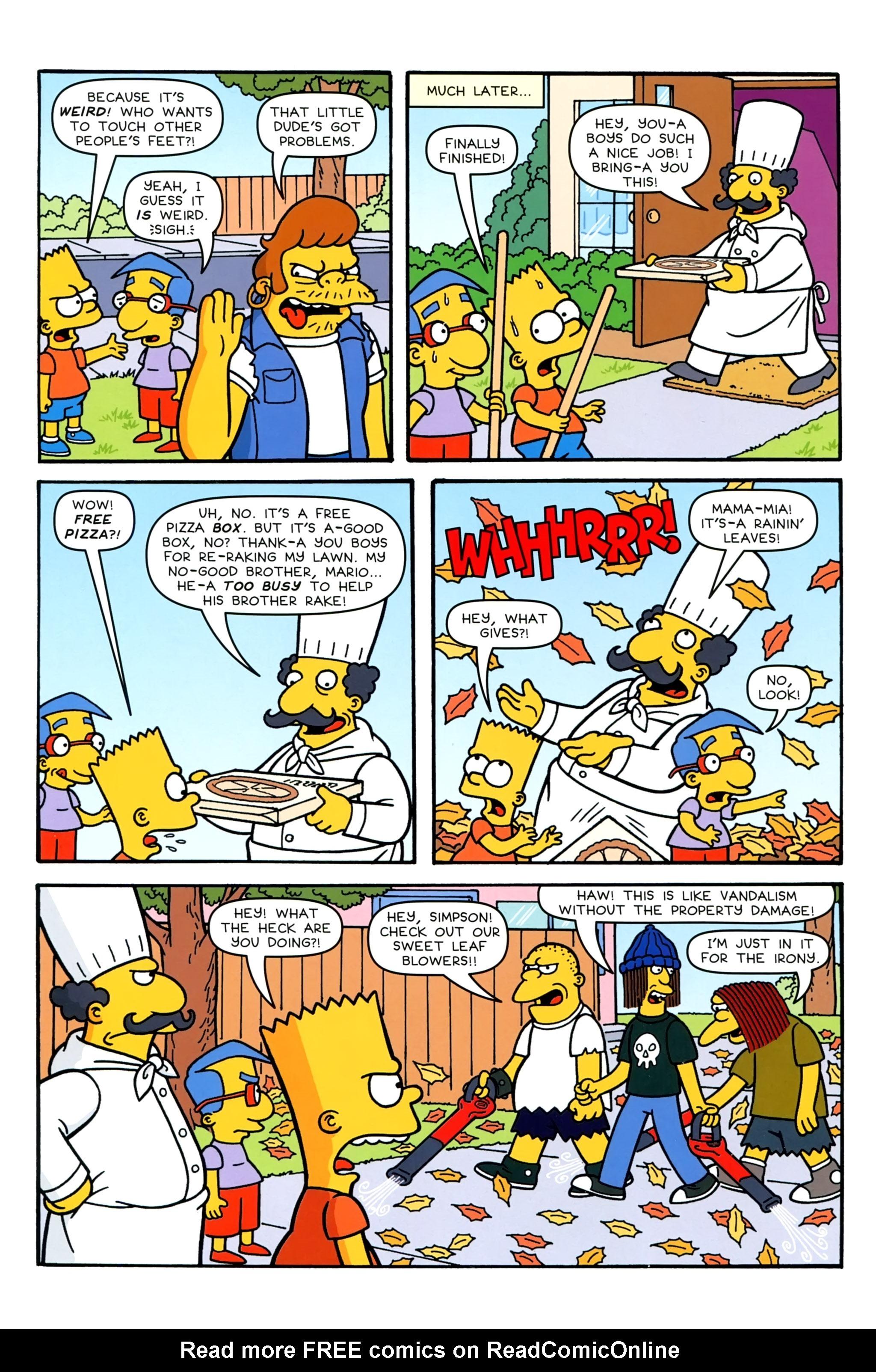 Read online Simpsons Comics comic -  Issue #231 - 8