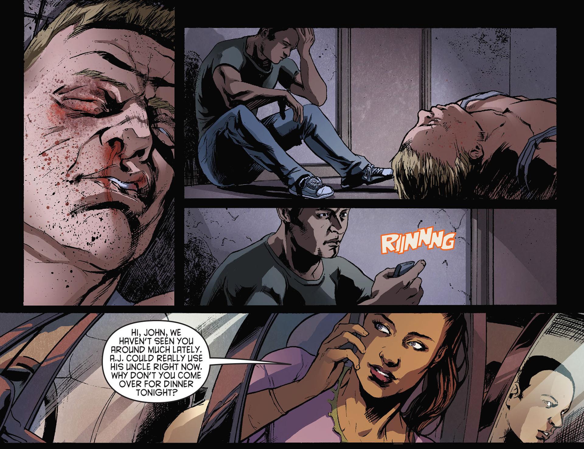Read online Arrow [II] comic -  Issue #28 - 19