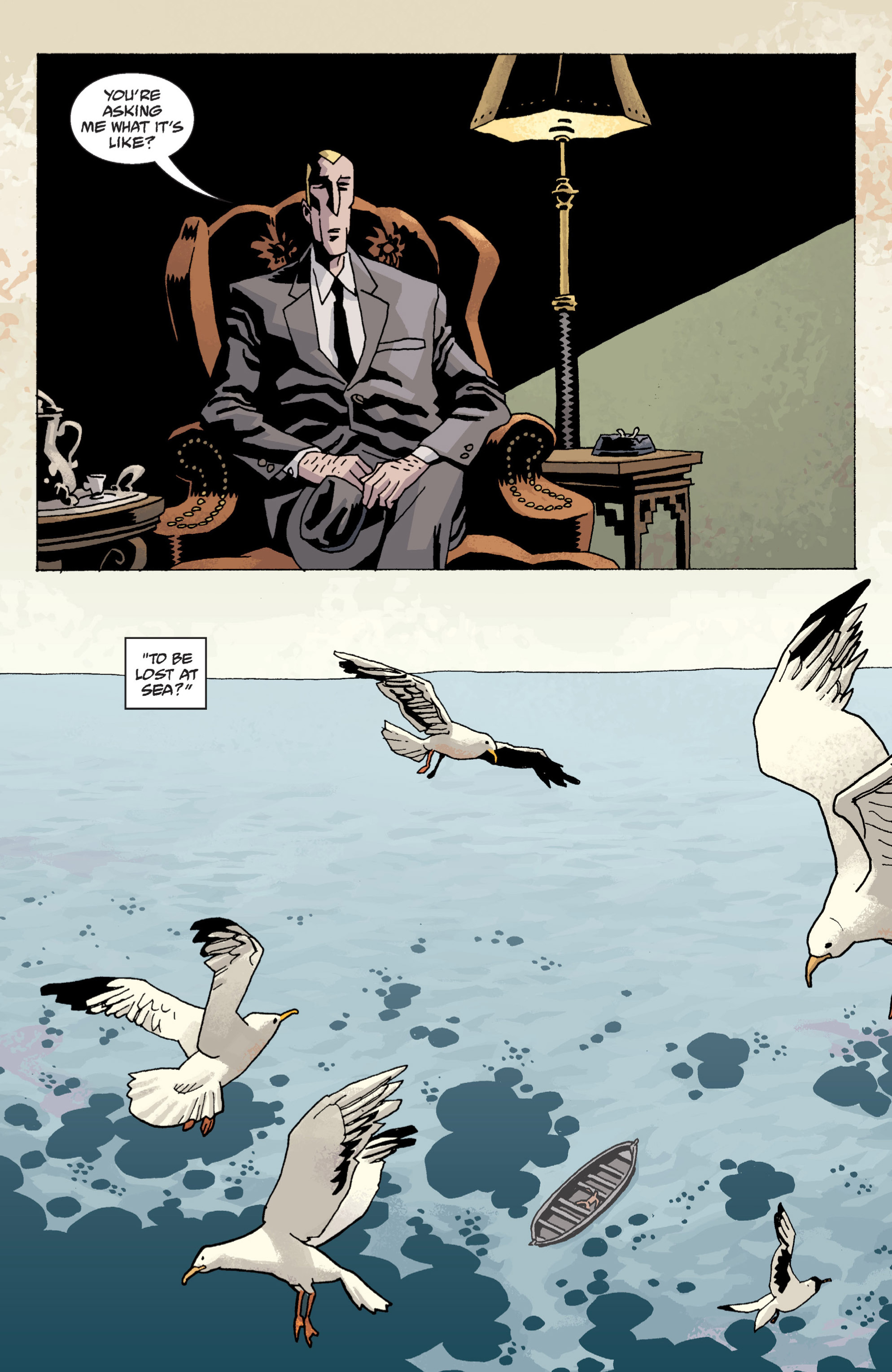Read online B.P.R.D. (2003) comic -  Issue # TPB 13 - 86