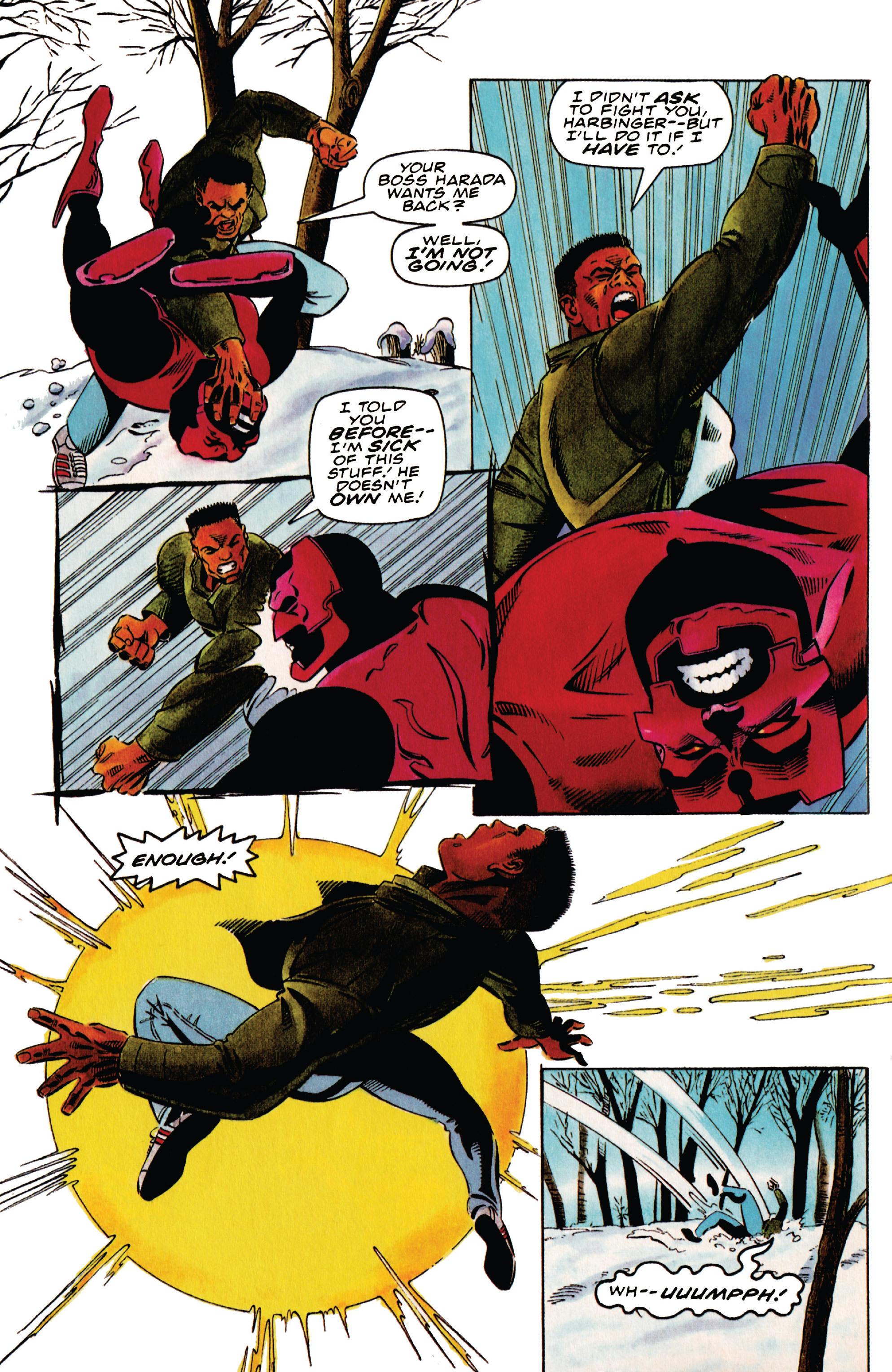Read online Harbinger (1992) comic -  Issue #41 - 10