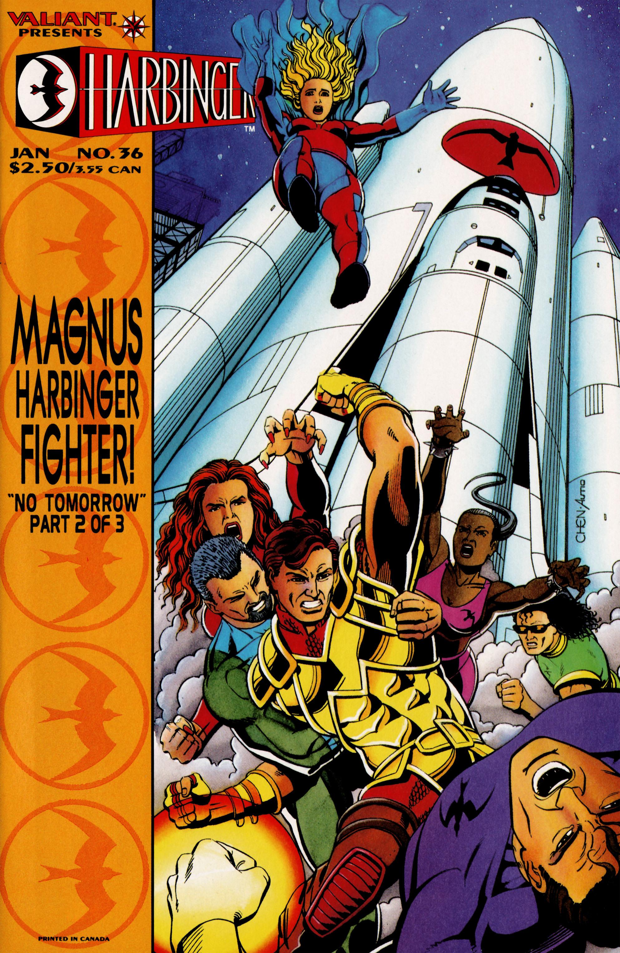 Harbinger (1992) 36 Page 1