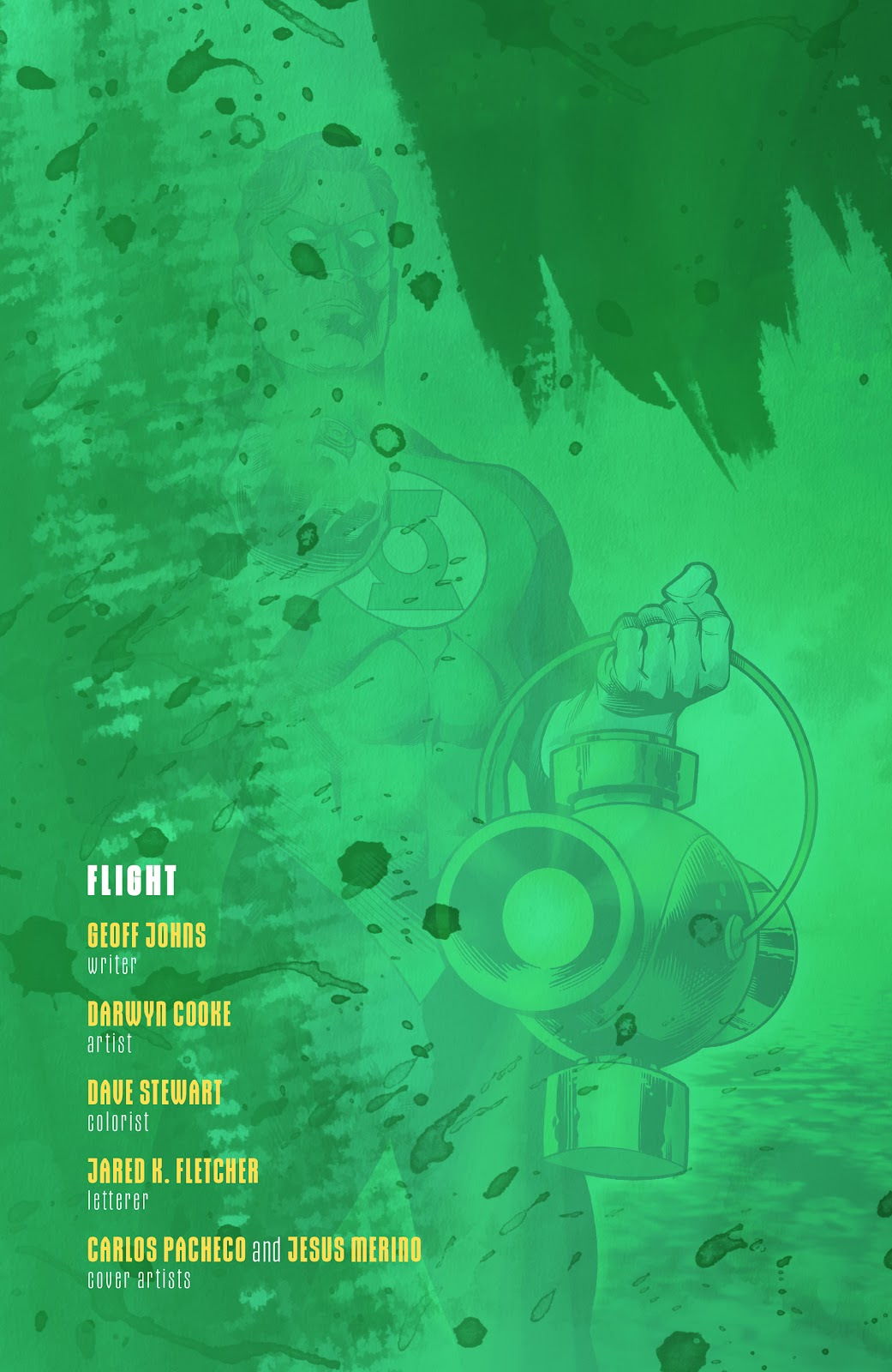 Read online Green Lantern by Geoff Johns comic -  Issue # TPB 1 (Part 2) - 55