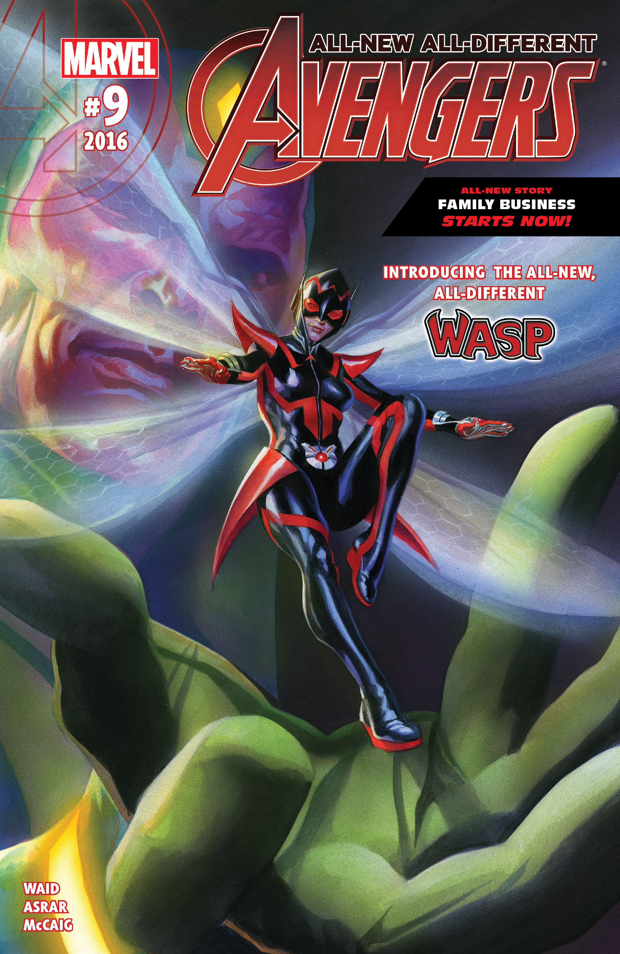 Read online All-New, All-Different Avengers comic -  Issue #9 - 1