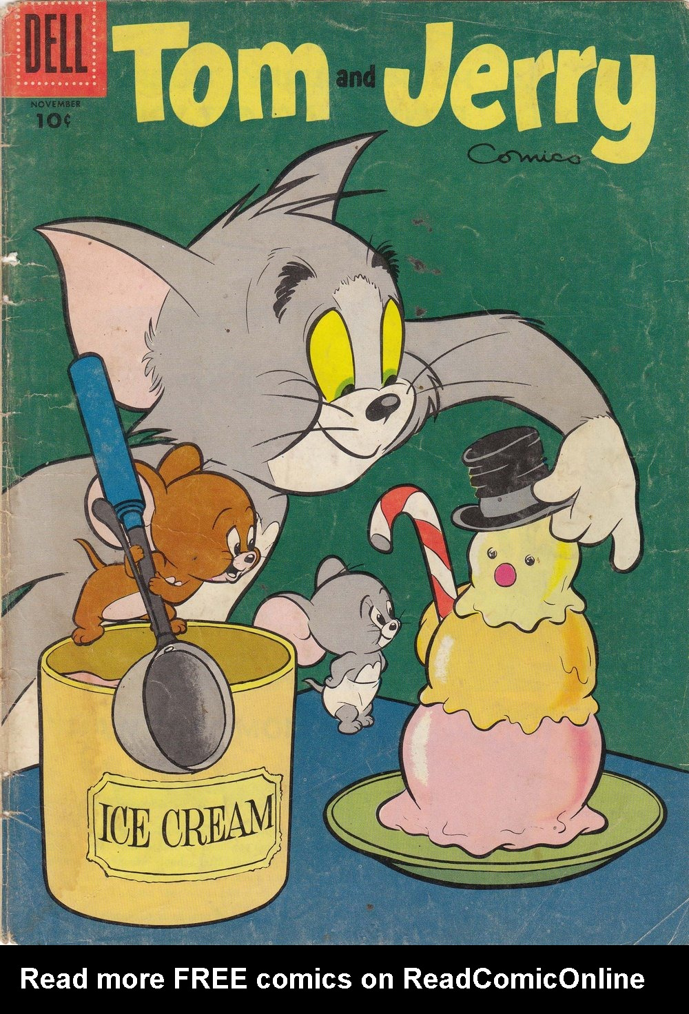 Tom & Jerry Comics 136 Page 1