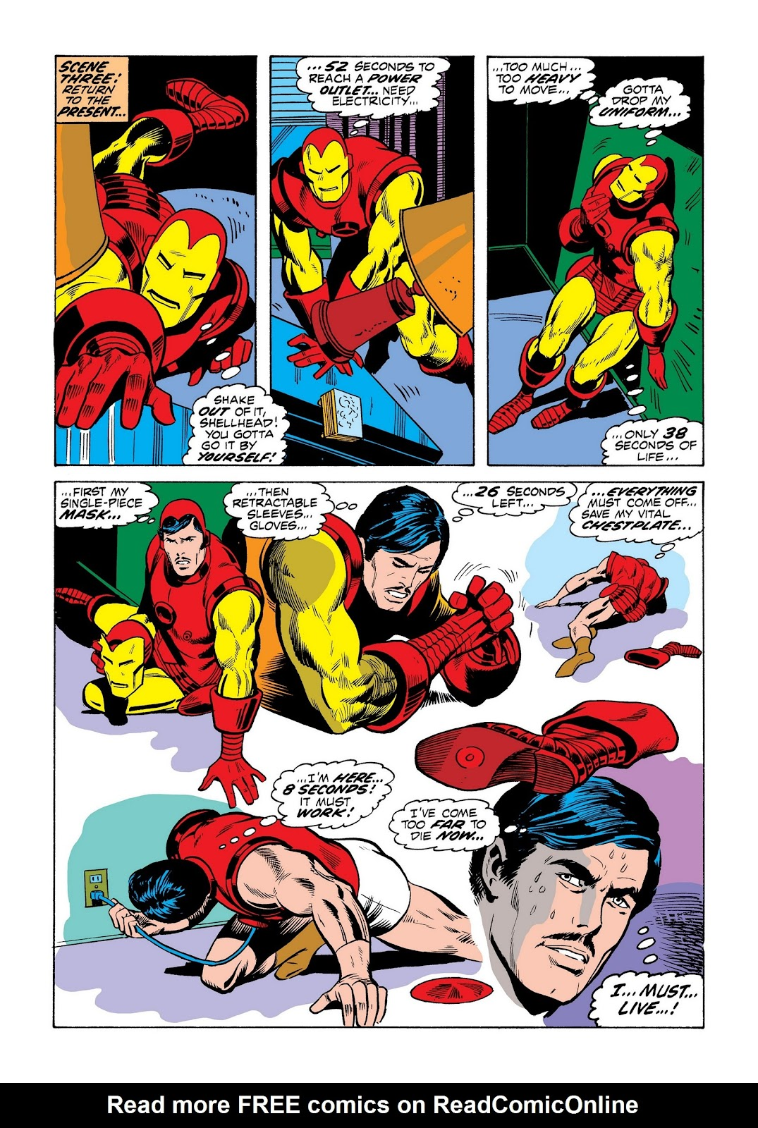 Read online Marvel Masterworks: The Invincible Iron Man comic -  Issue # TPB 8 (Part 3) - 34