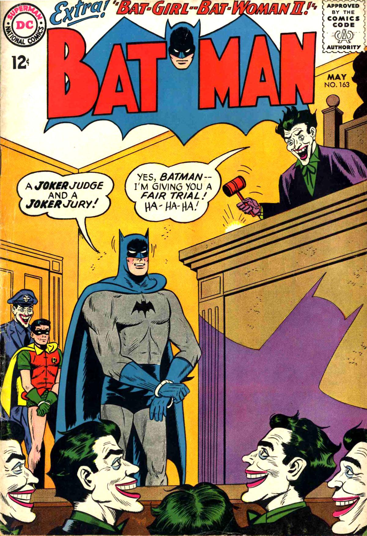 Batman (1940) 163 Page 1