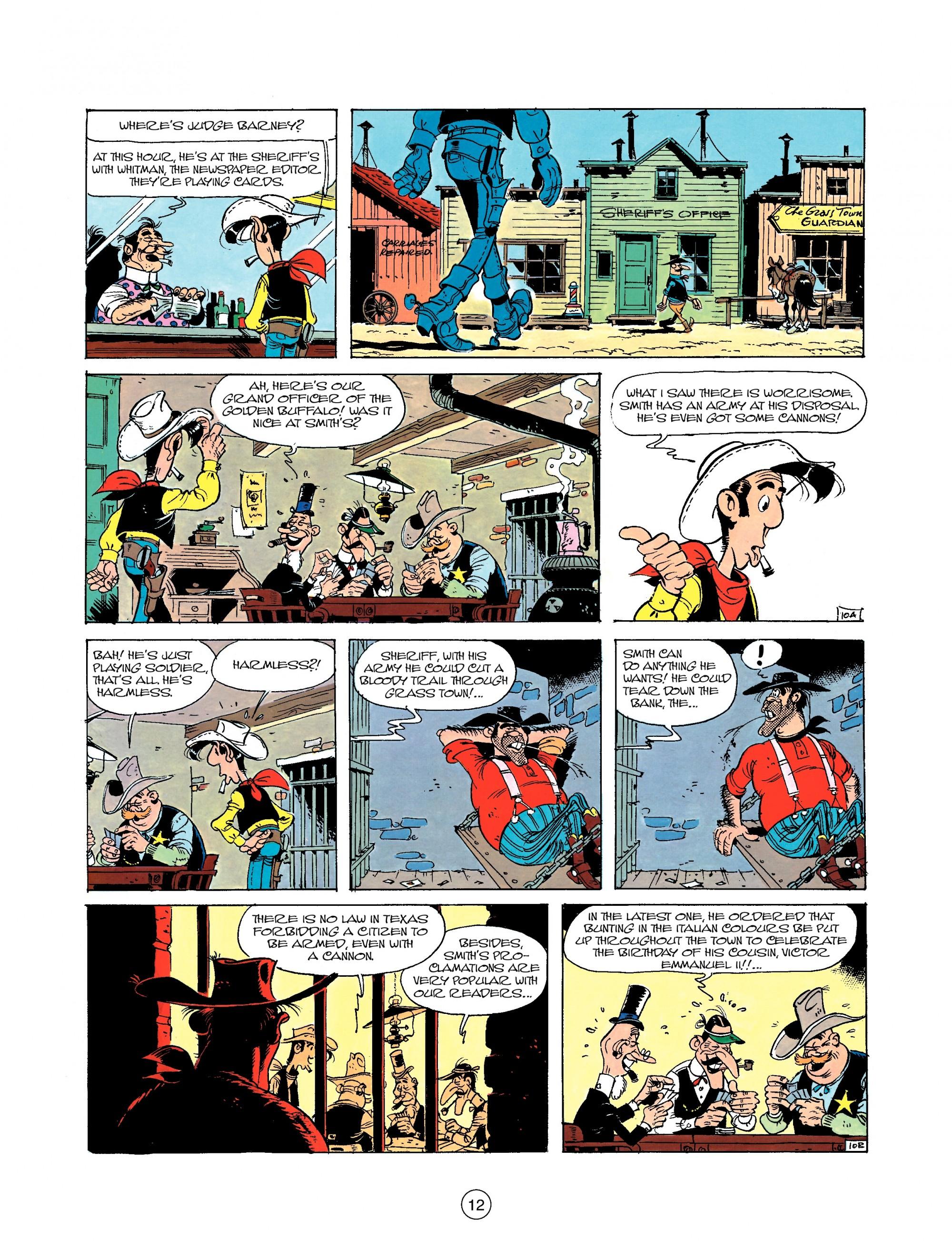 Read online A Lucky Luke Adventure comic -  Issue #22 - 12