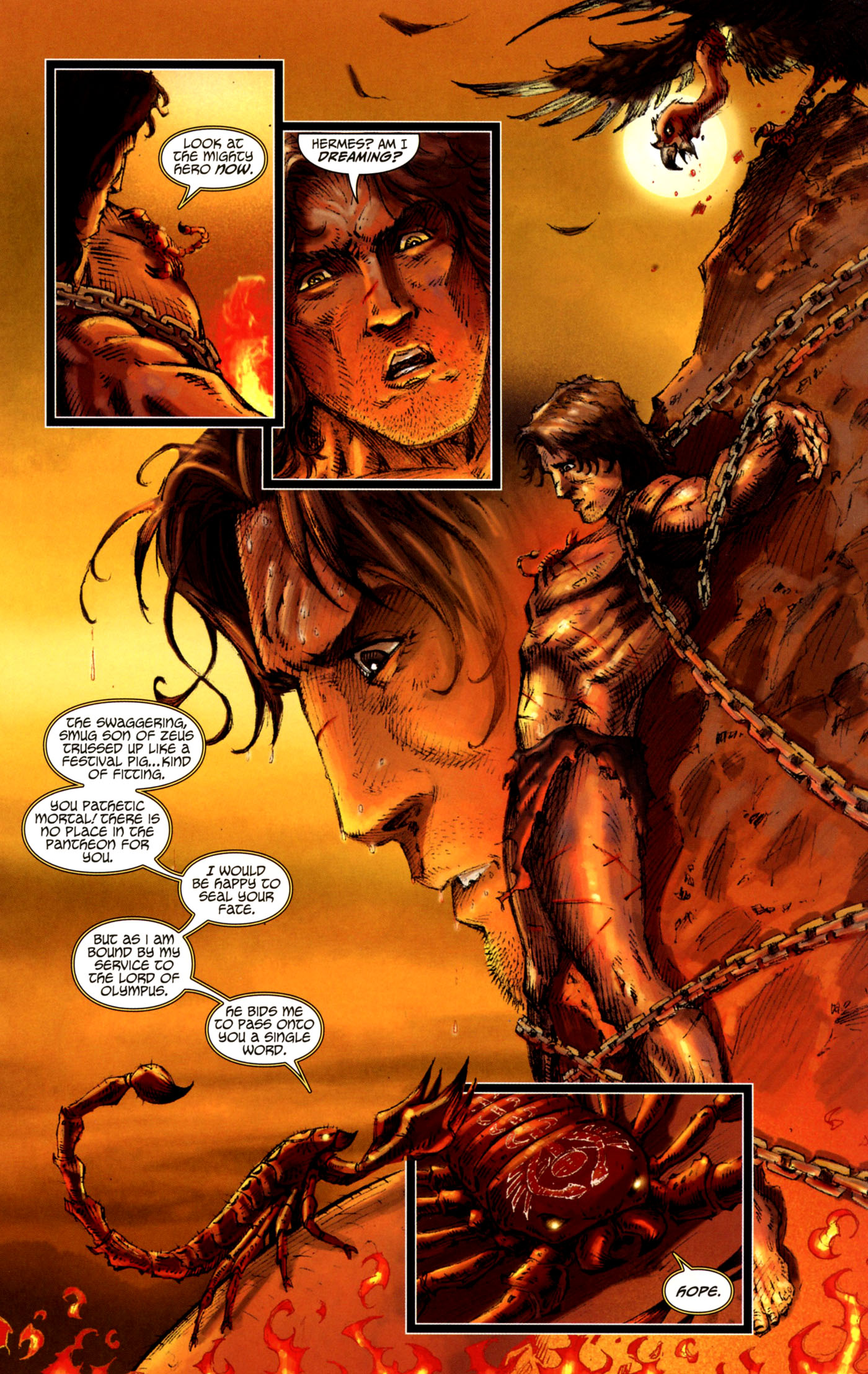 Read online Wrath of the Titans comic -  Issue #4 - 4