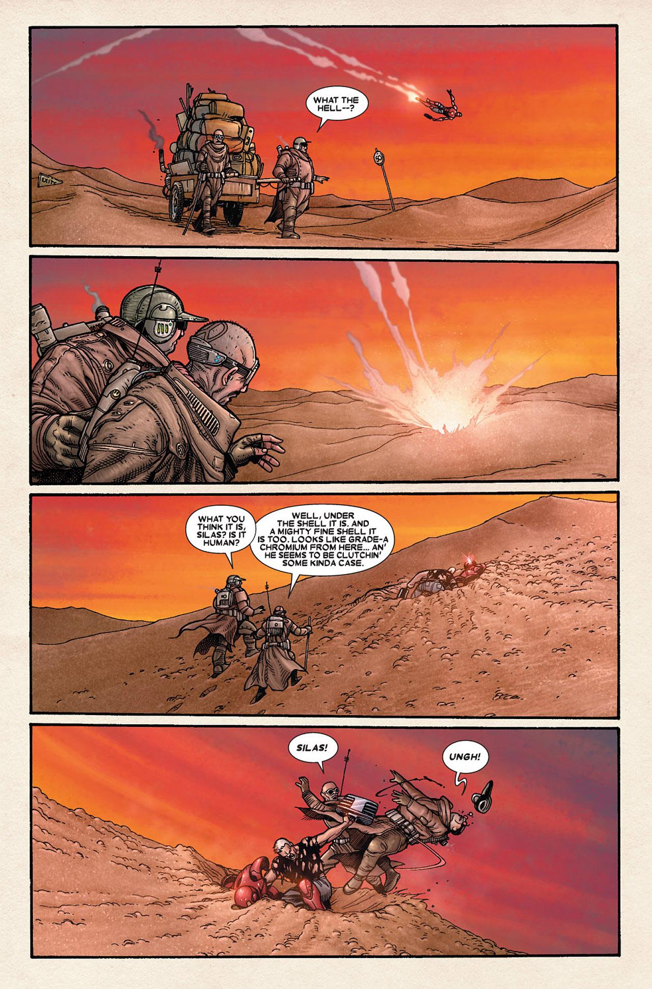 Read online Wolverine: Old Man Logan comic -  Issue # Full - 158