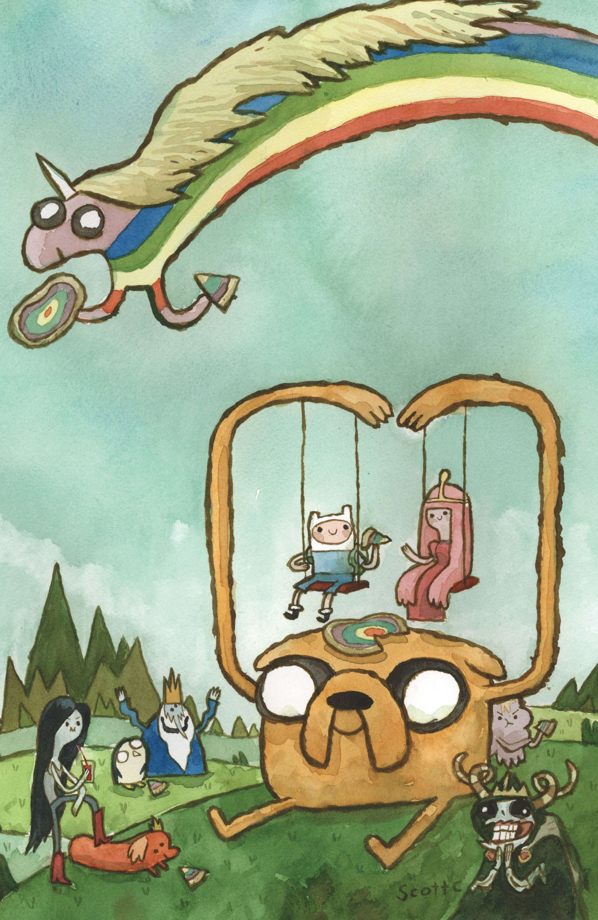 Read online Adventure Time comic -  Issue #4 - 3