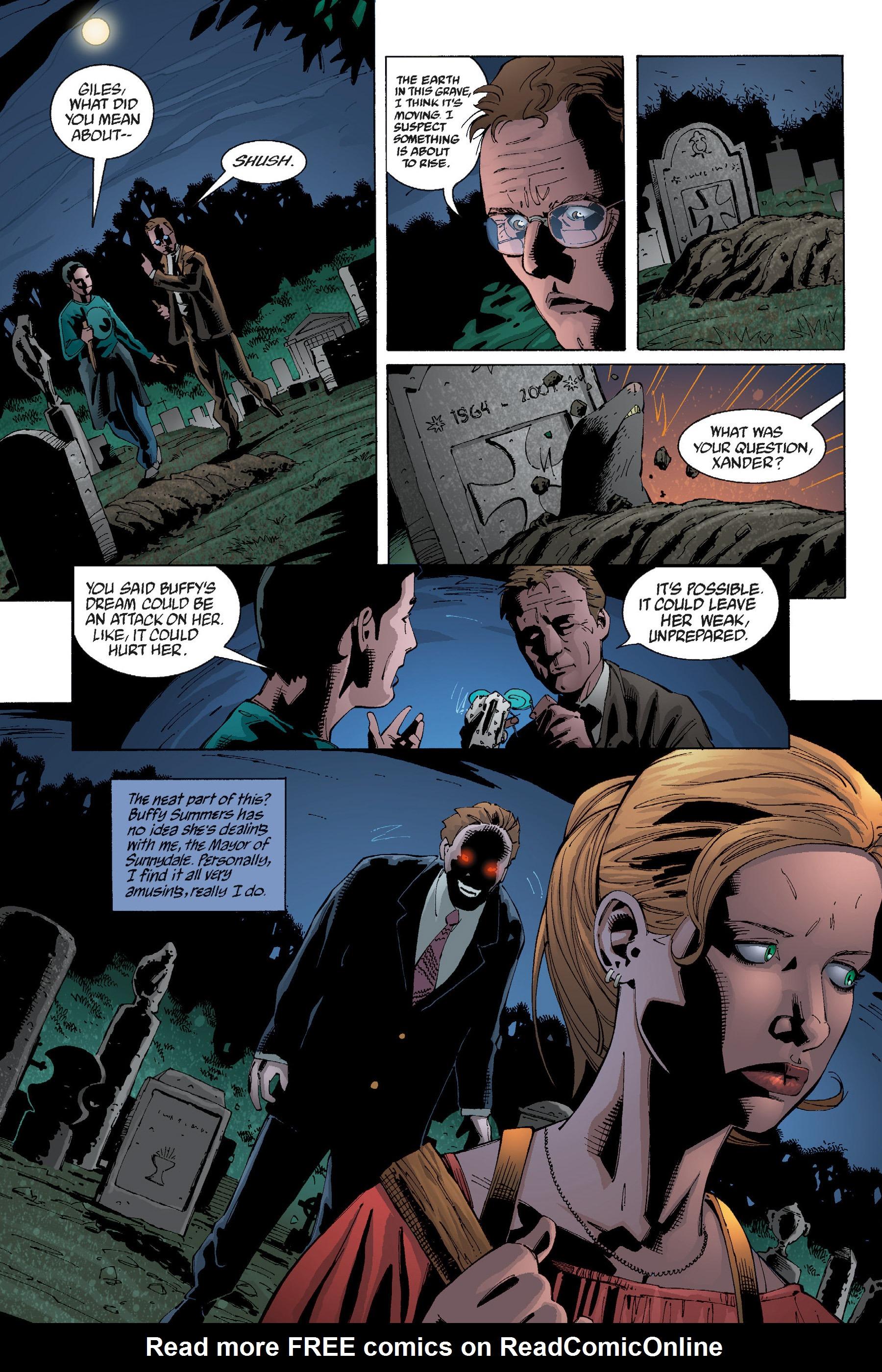 Read online Buffy the Vampire Slayer: Omnibus comic -  Issue # TPB 5 - 32