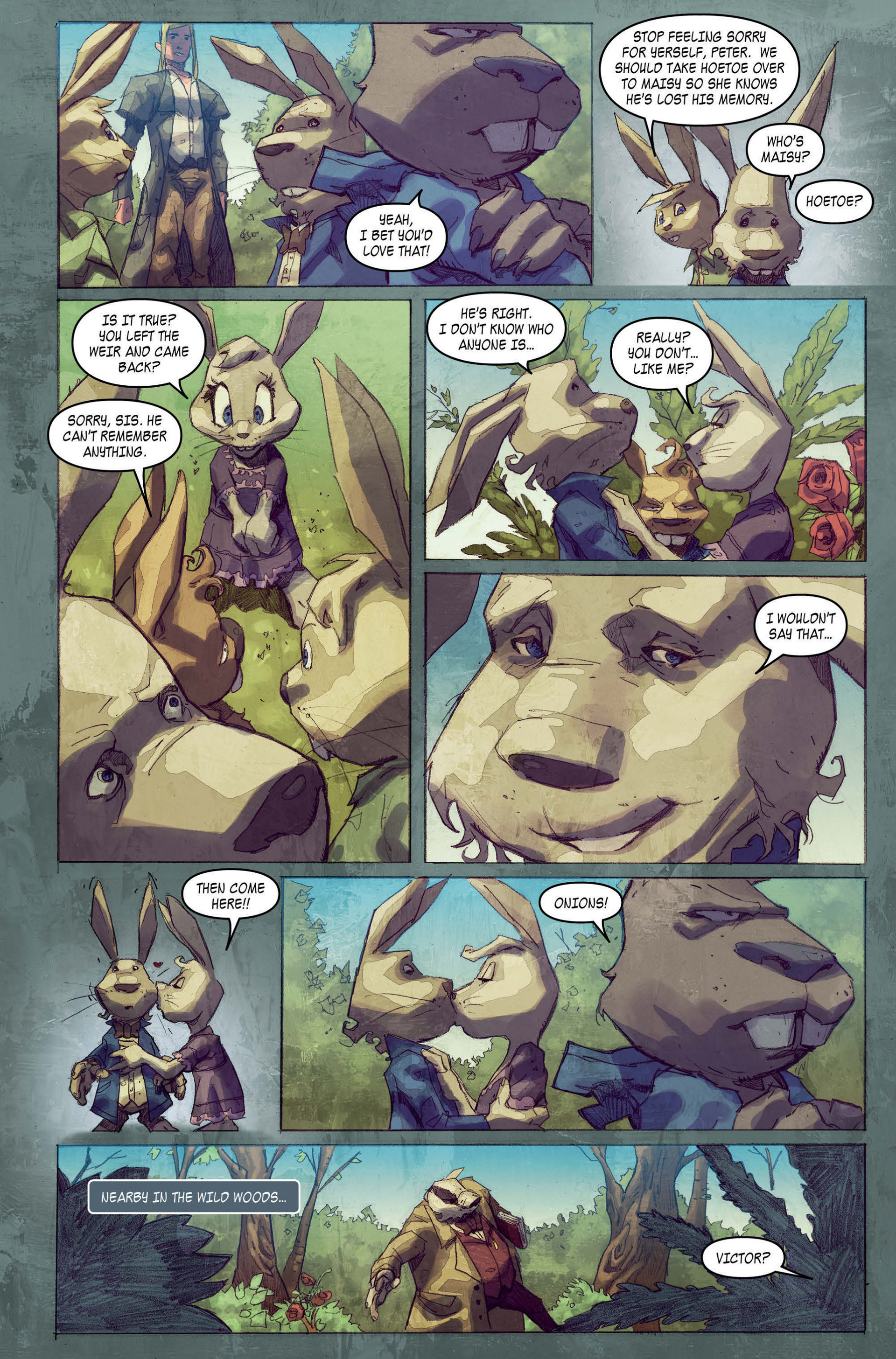 Read online A1 comic -  Issue #4 - 5