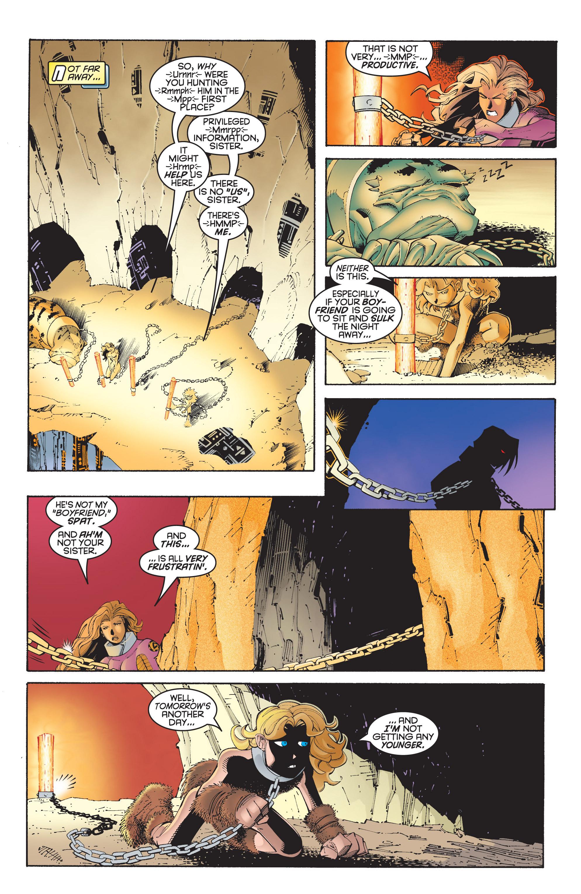 Read online Uncanny X-Men (1963) comic -  Issue #348 - 17