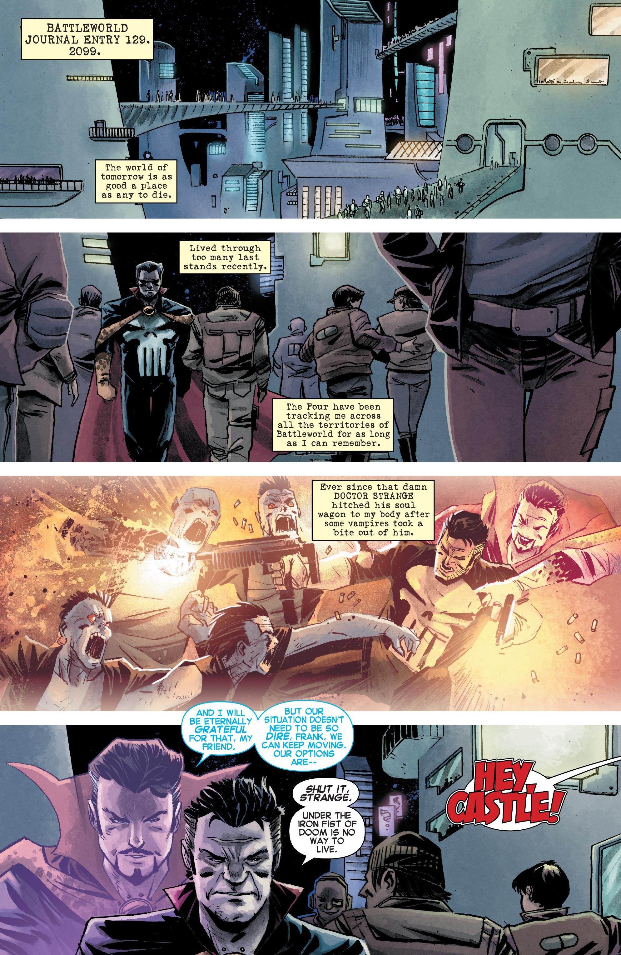 Read online Secret Wars Journal/Battleworld comic -  Issue # TPB - 122