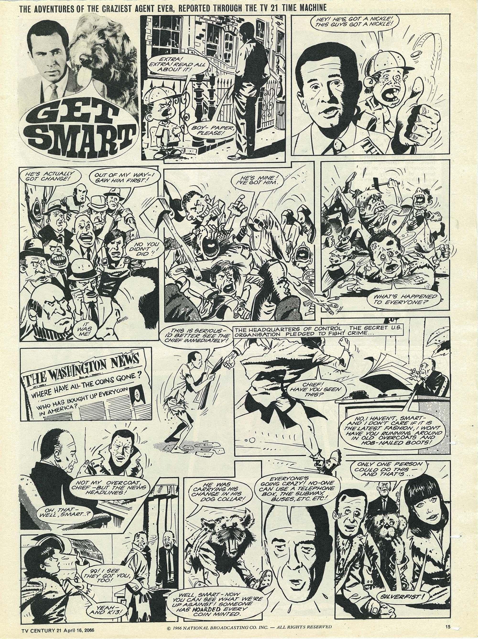 Read online TV Century 21 (TV 21) comic -  Issue #65 - 14