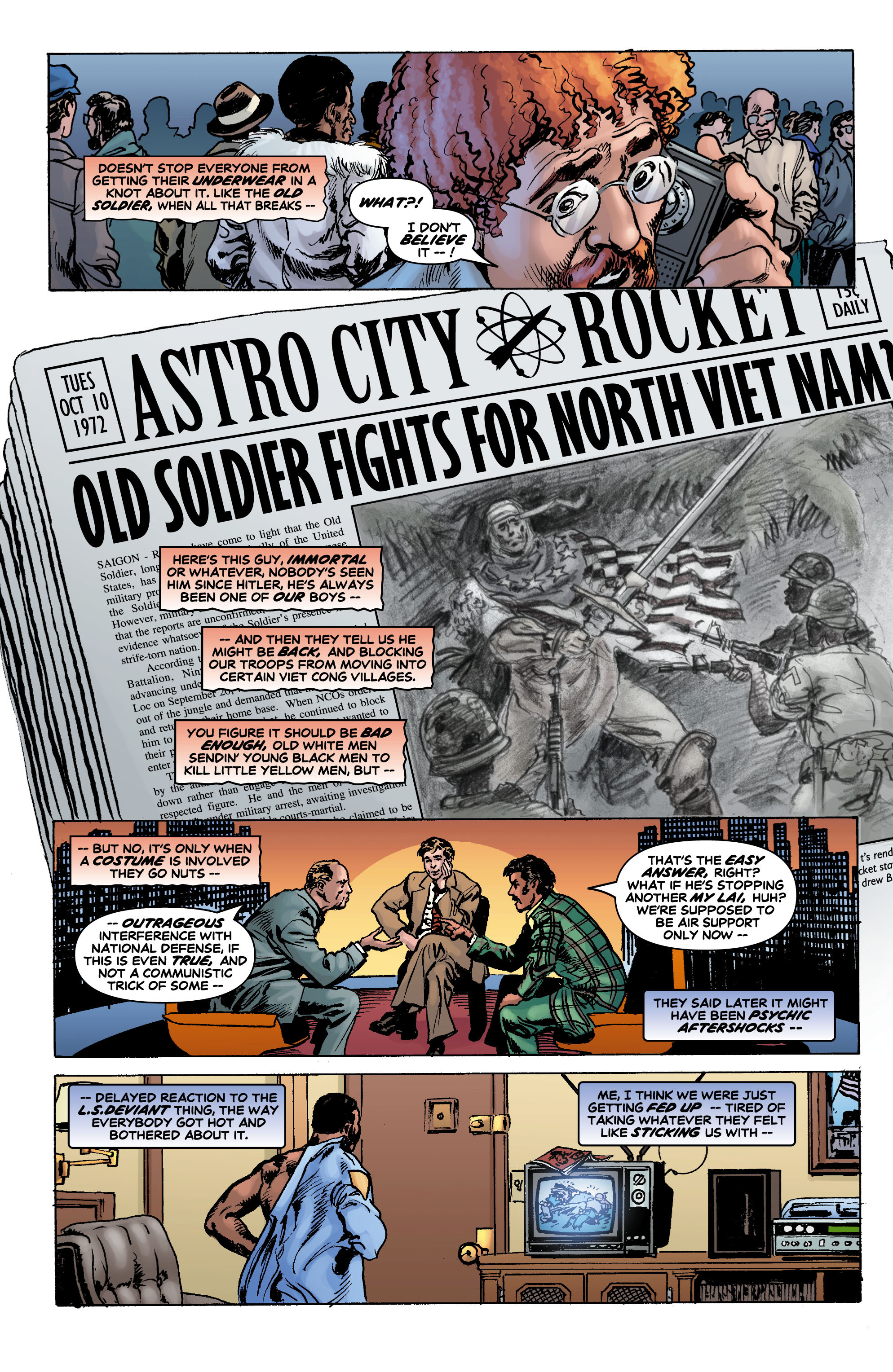Read online Astro City: Dark Age/Book One comic -  Issue #1 - 8